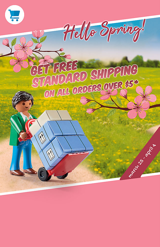 Free standard shipping on all orders over 5 dollars