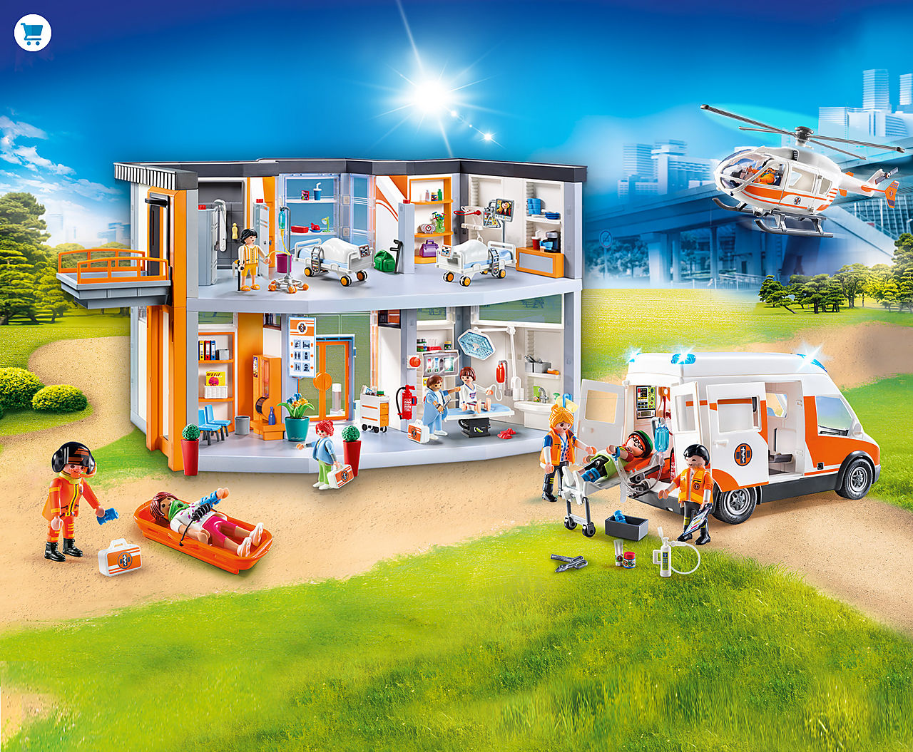 'Find the newest PLAYMOBIL Hospital Playsets