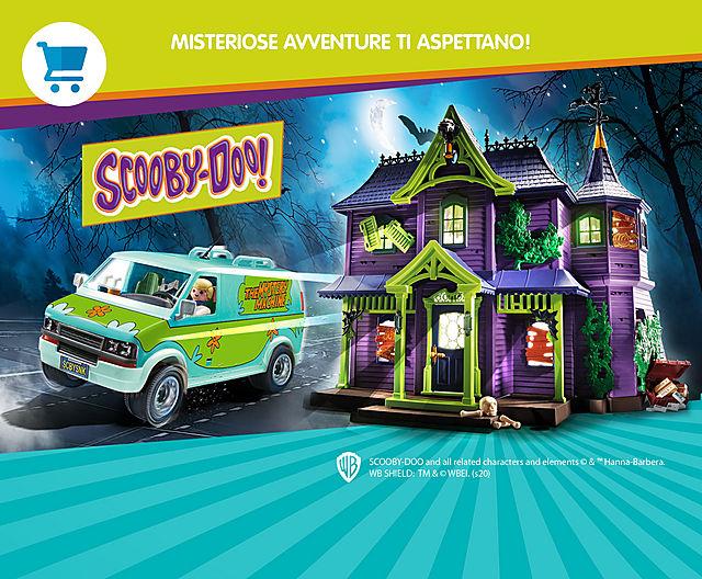 Scooby-Doo! Avventure misteriose ti aspettano!
