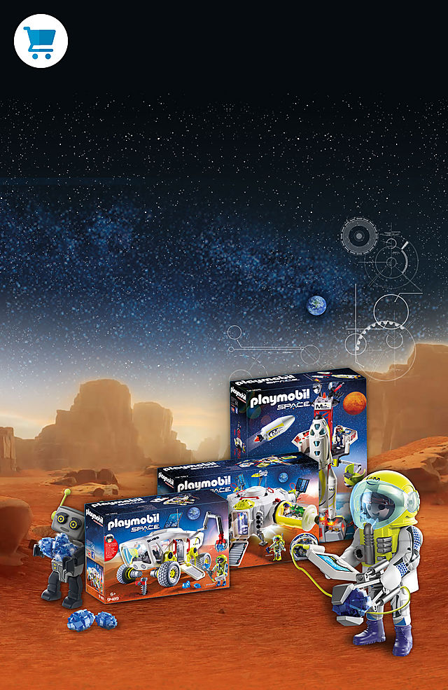Blast off into cool space adventures with PLAYMOBIL Mars Mission