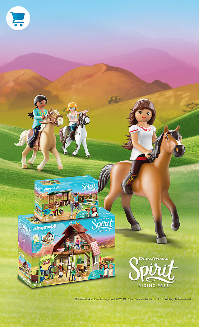 Join Lucky an her friends in the wonderful world of Spirit Riding Free