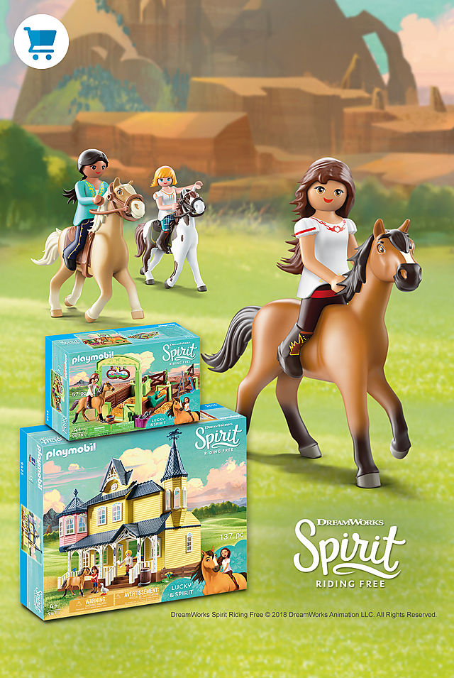 Join Lucky and her friends in the wonderful world of Spirit Riding Free