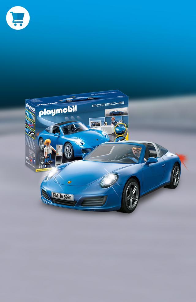 Porsche Targa 4S >> PLAYMOBIL® jouets, boutique officielle France PLAYMOBIL ...
