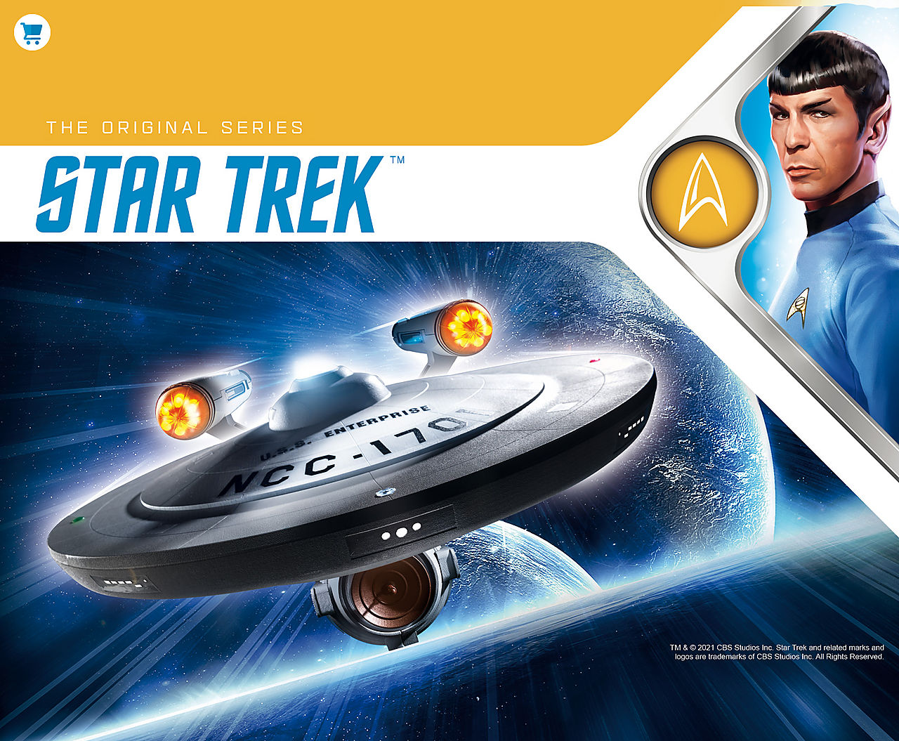 Discover now the 70548 U.S.S Enterprise from Playmobil