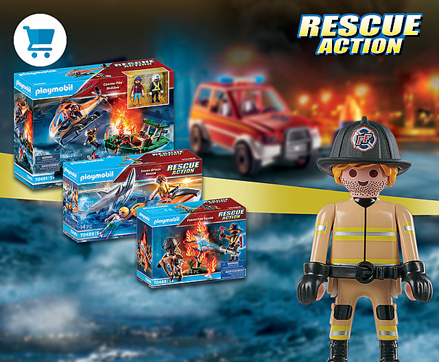 On land and sea -  PLAYMOBIL Rescue Action is ready!