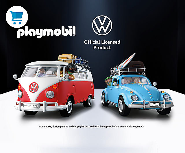 'Discover the two new Playmobil Volkswagens