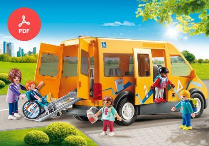 3399 Playmobil Grande Poubelle Container Jaune