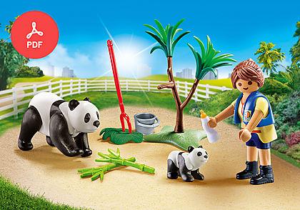 70105 Panda Caretaker Carry Case S