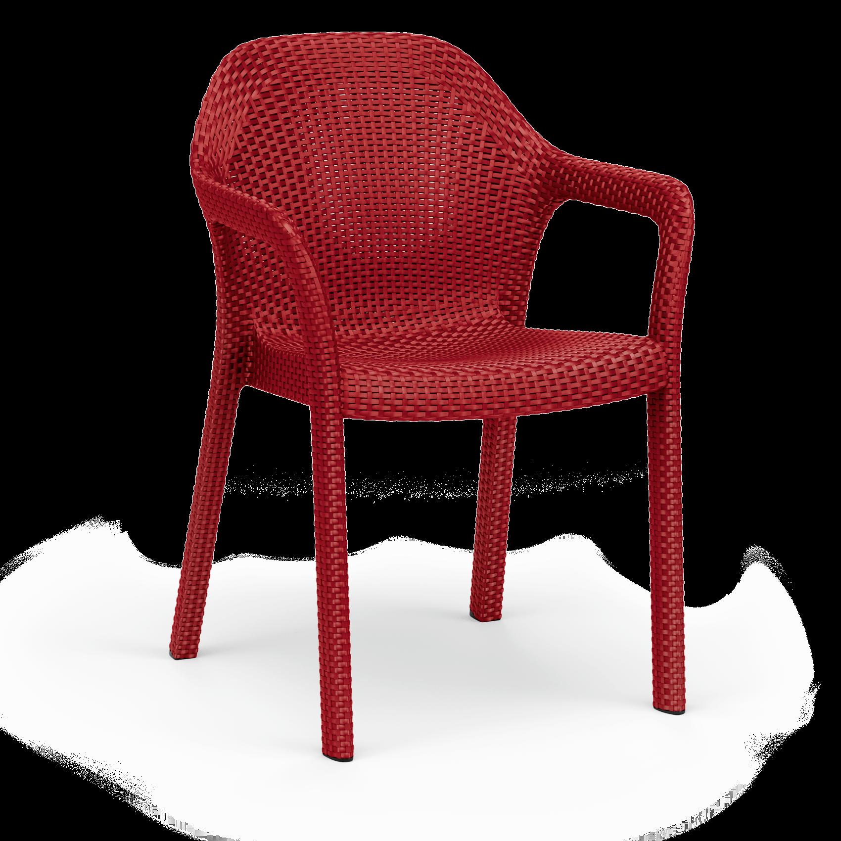 Στοιβαζόμενη καρέκλα scarlet red
