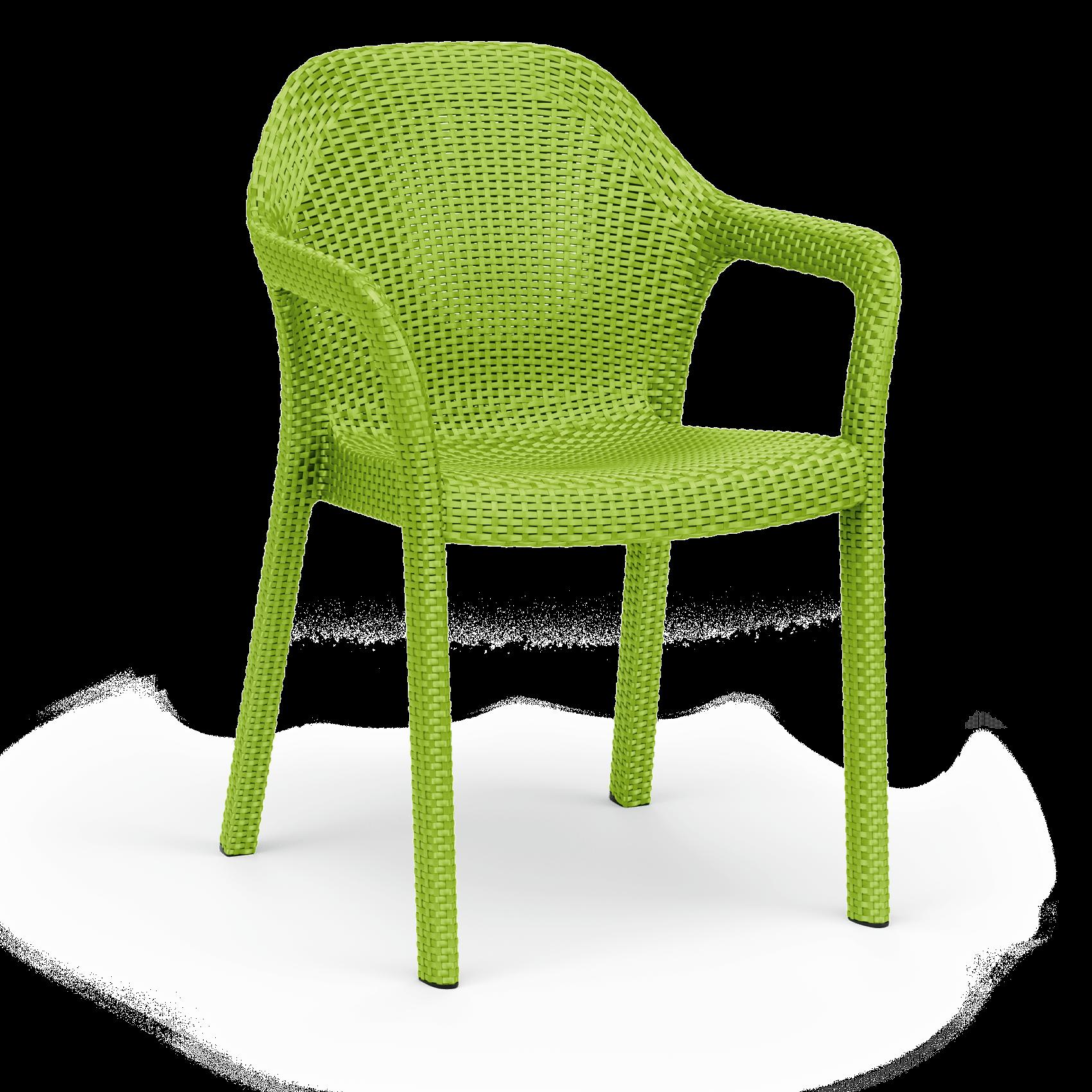 Στοιβαζόμενη καρέκλα apple green