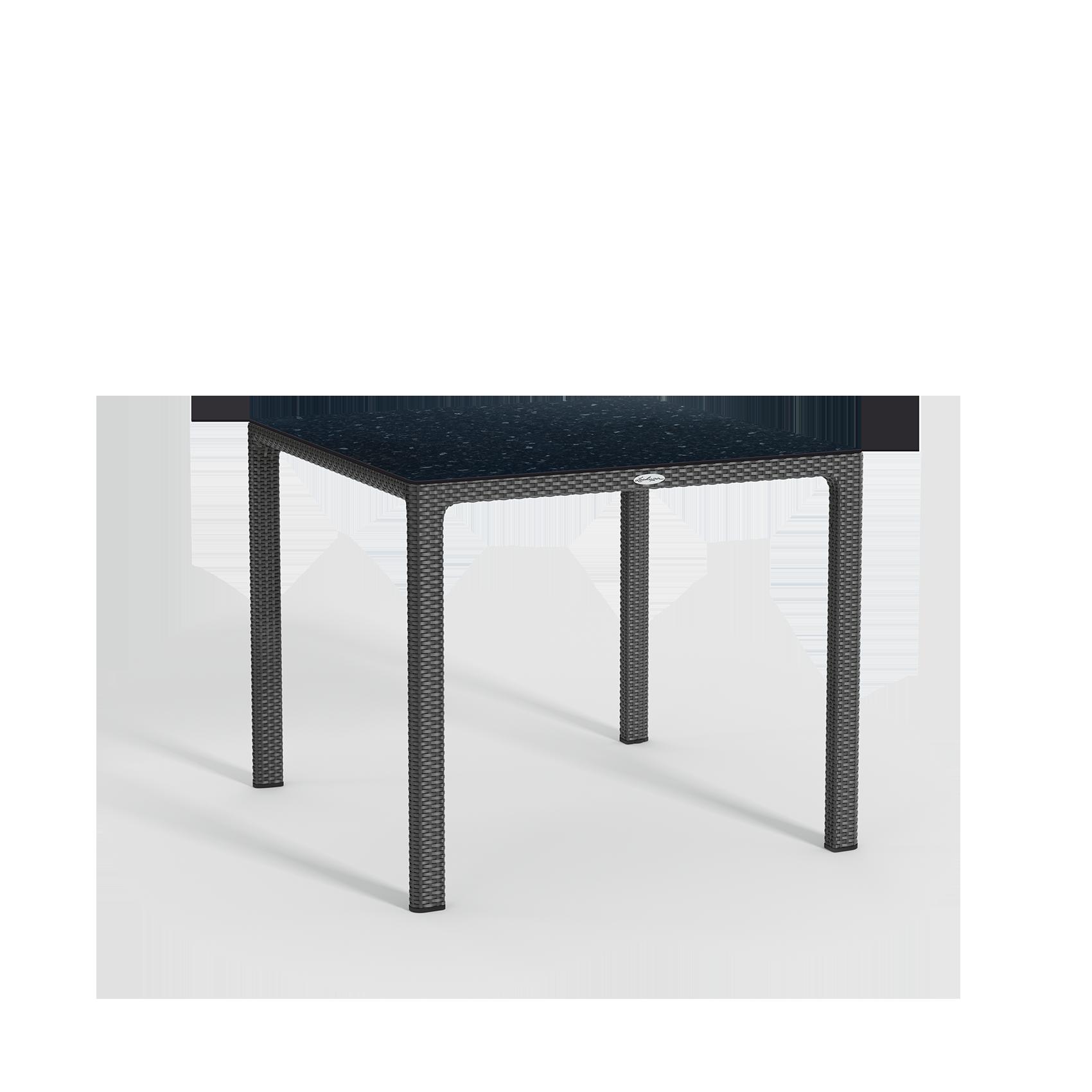 Esstisch mit HPL-Tischplatte klein granit