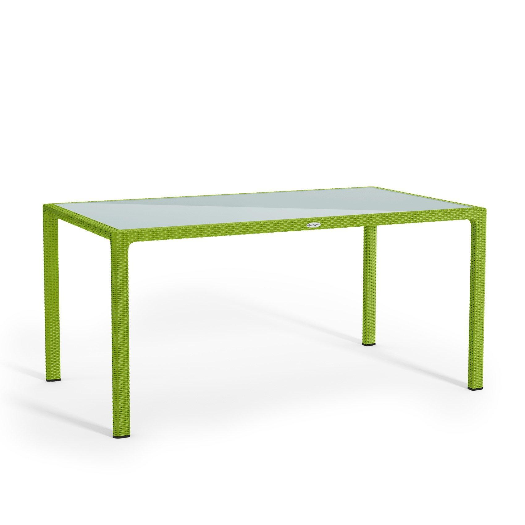 Τραπέζι φαγητού, μεγάλο apple green