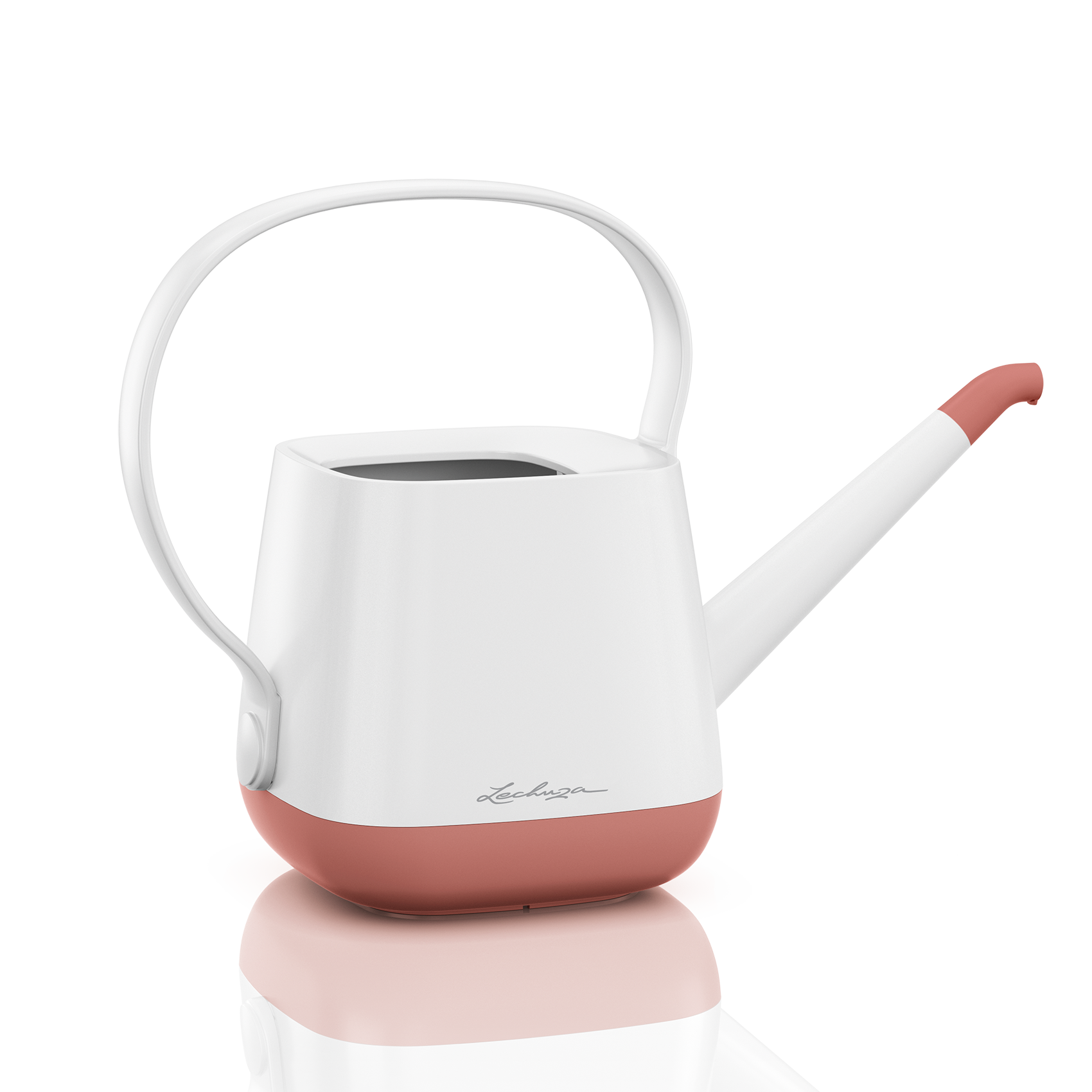 YULA watering can white/pearl rose semi-gloss