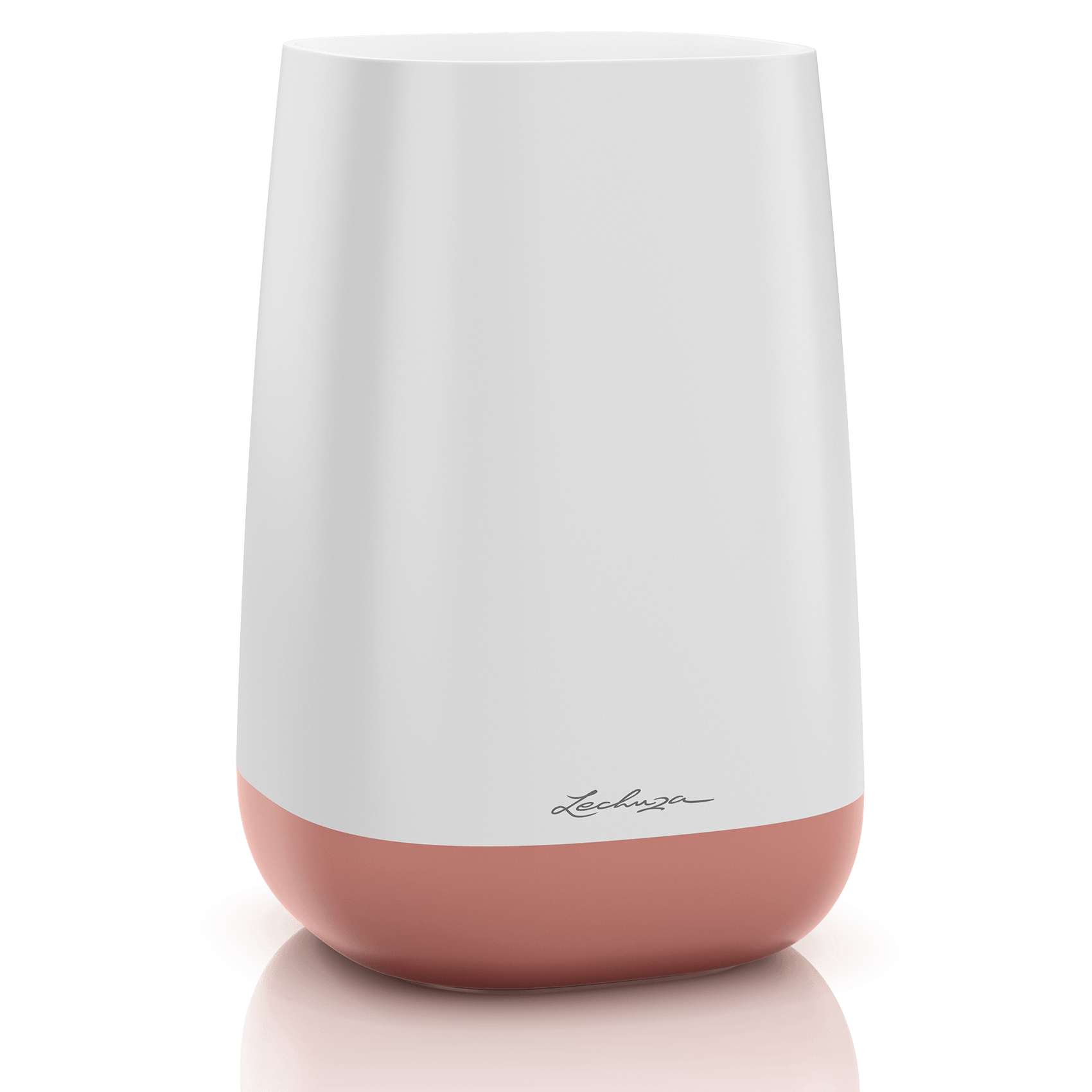 Flower YULA blanco/rosa perlado satinado