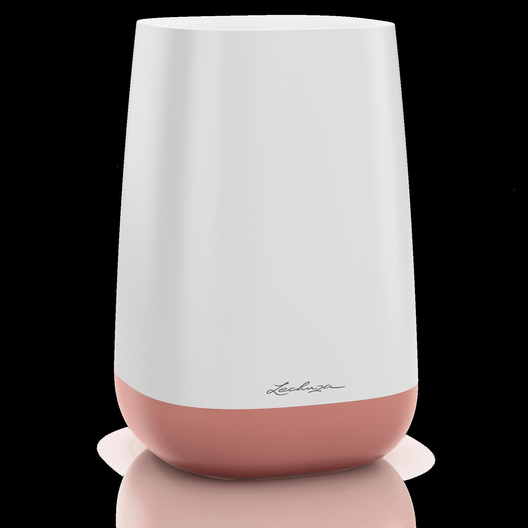 Ваза YULA белый/ярко-розовый