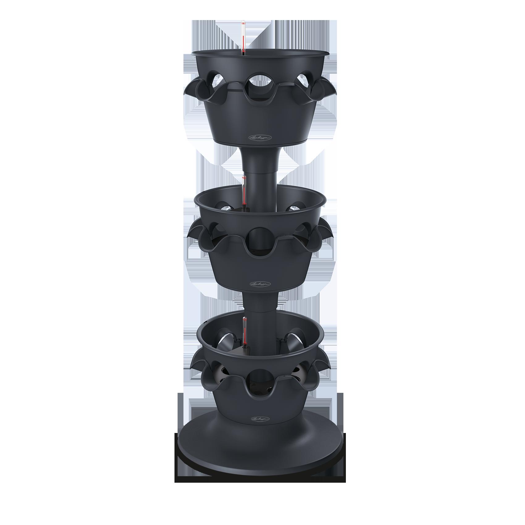 CASCADA Color 3er-Turm schiefergrau