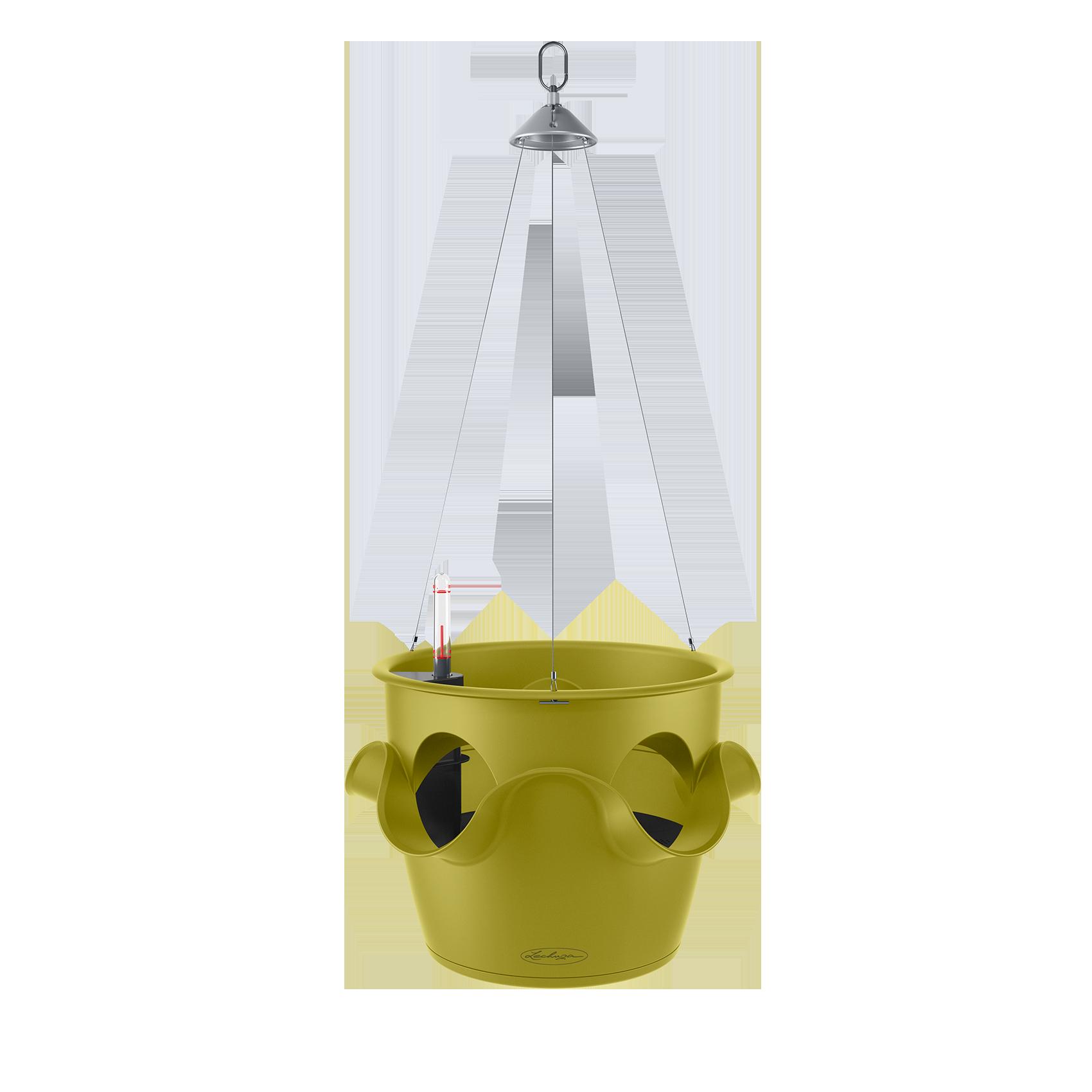 CASCADINO Color Pot individuel suspendu vert pistache
