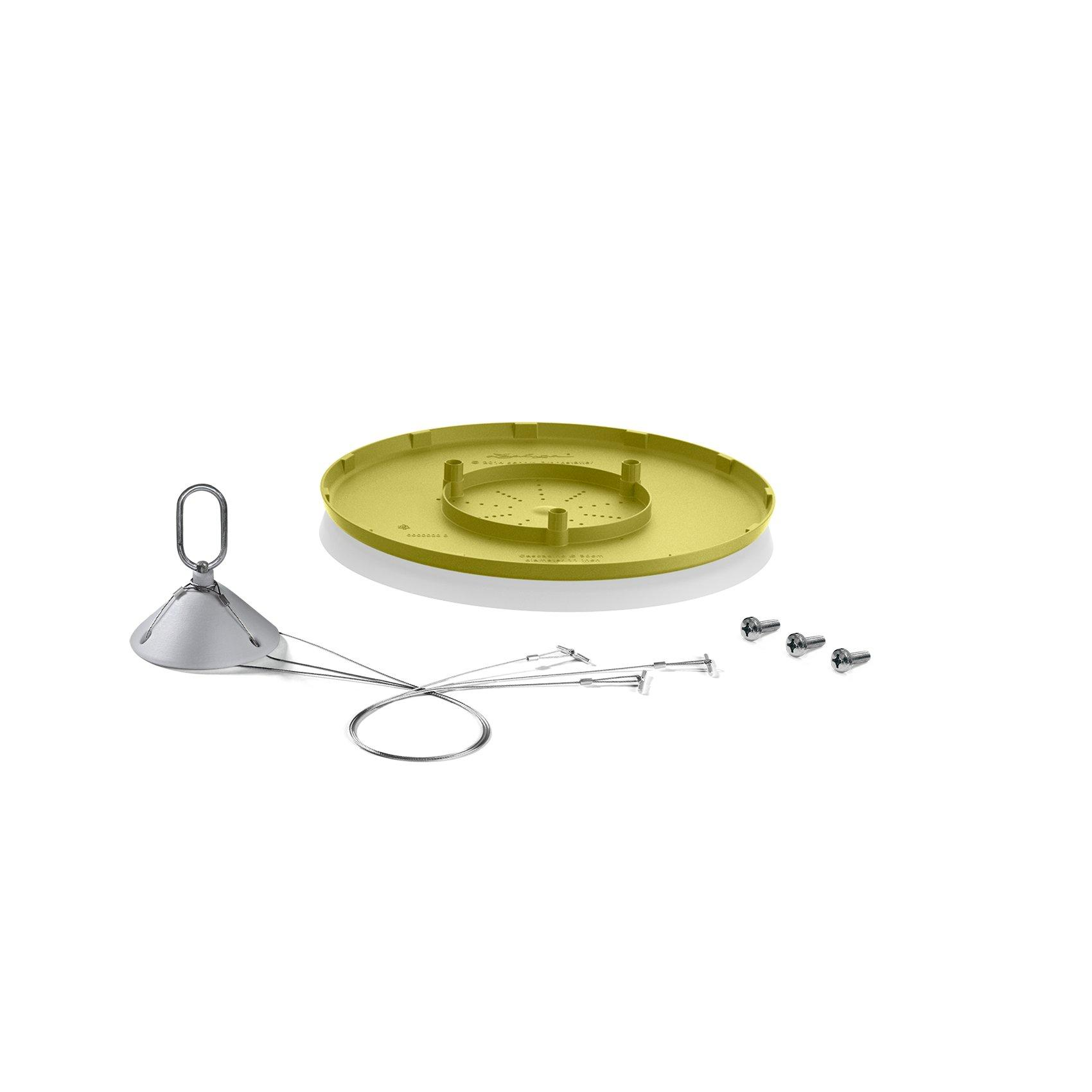 CASCADINO Struttura di sospensione verde pistacchio