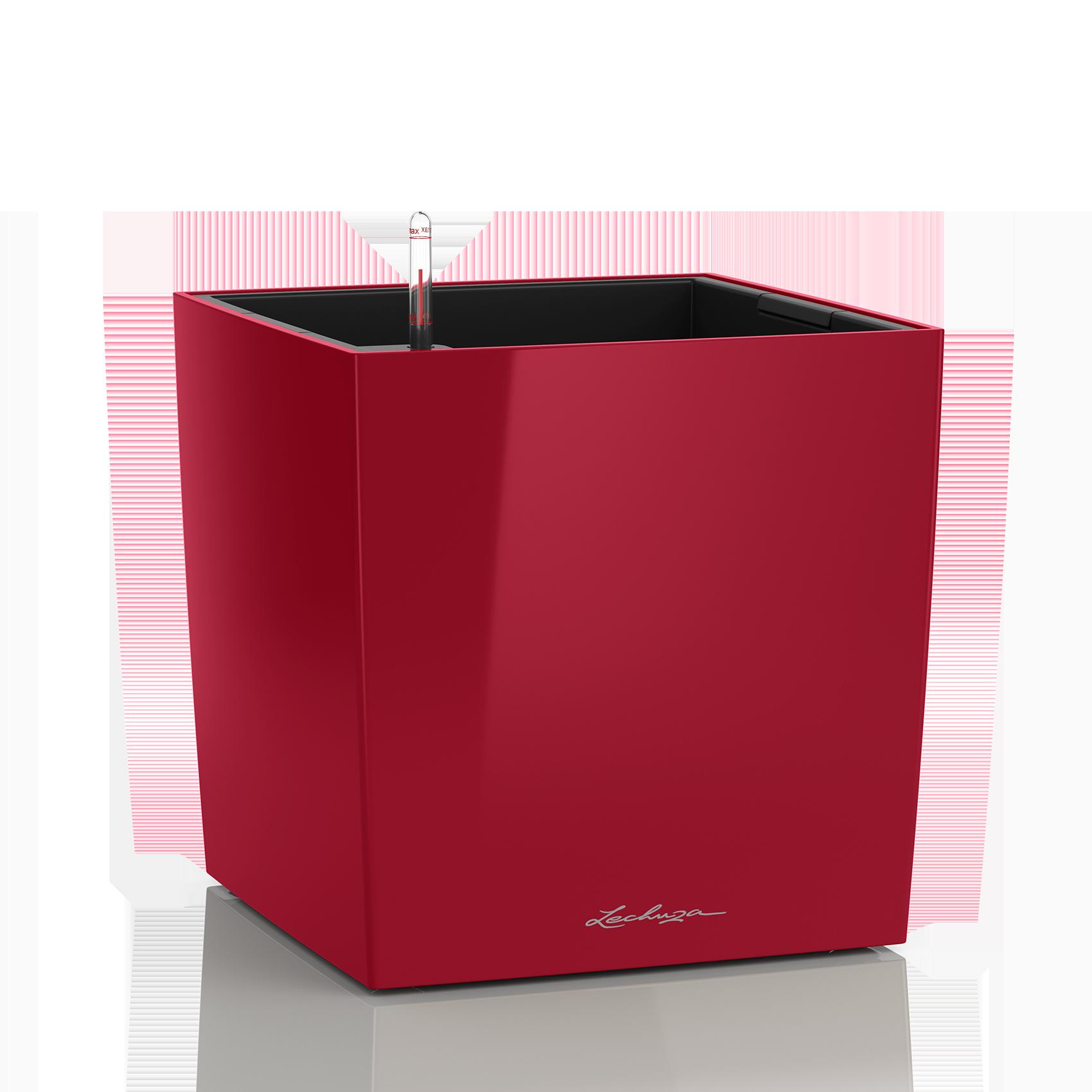 CUBE 40 ярко-красный блестящий