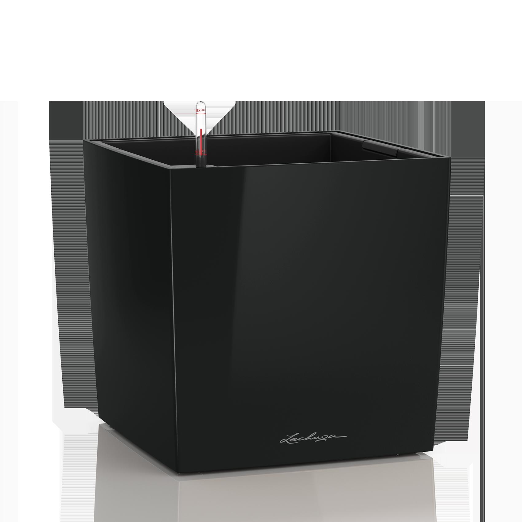 CUBE 40 black high-gloss