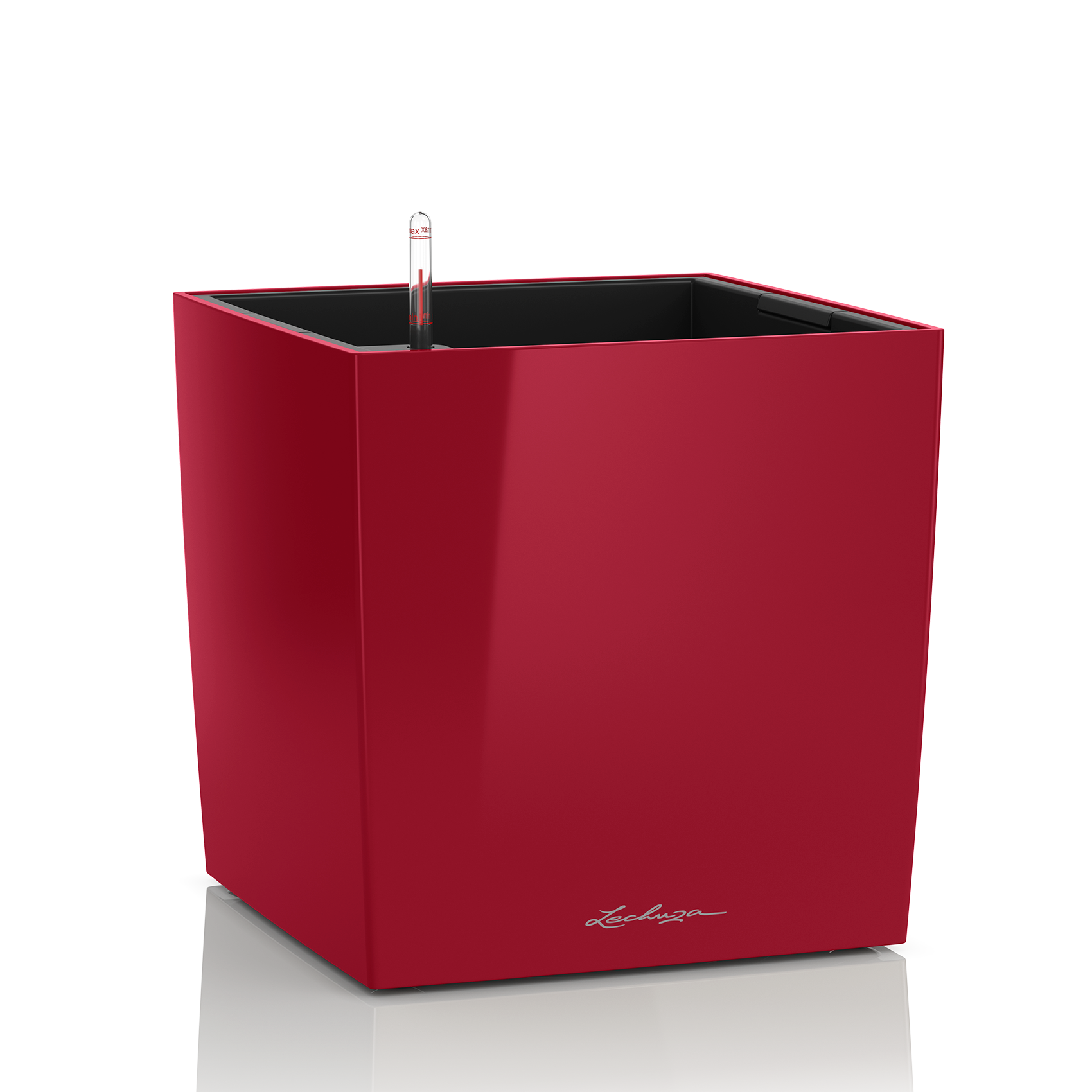 CUBE 50 scarlet red high-gloss