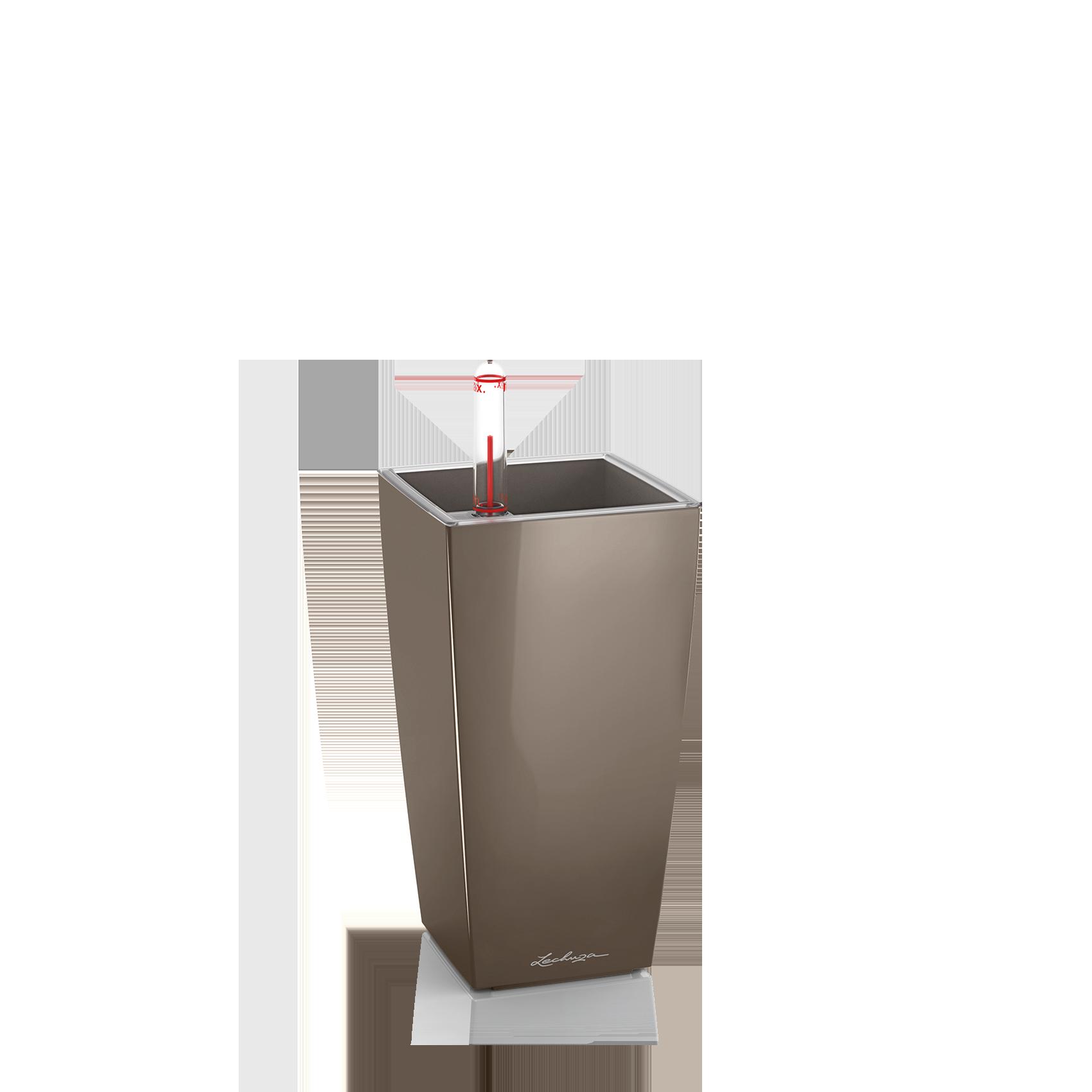 MINI-CUBI shiny taupe