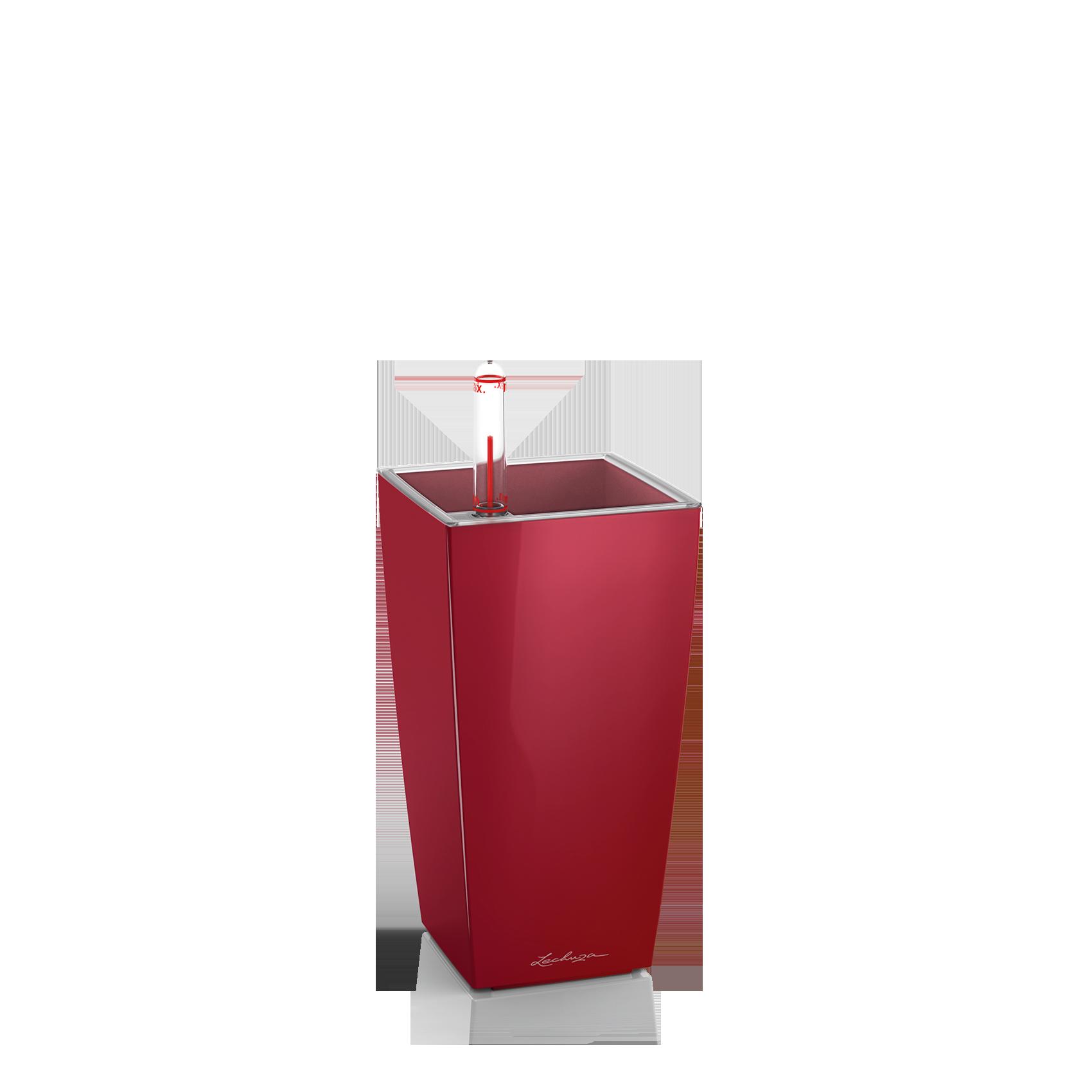 MINI-CUBI rosso scarlatto lucido