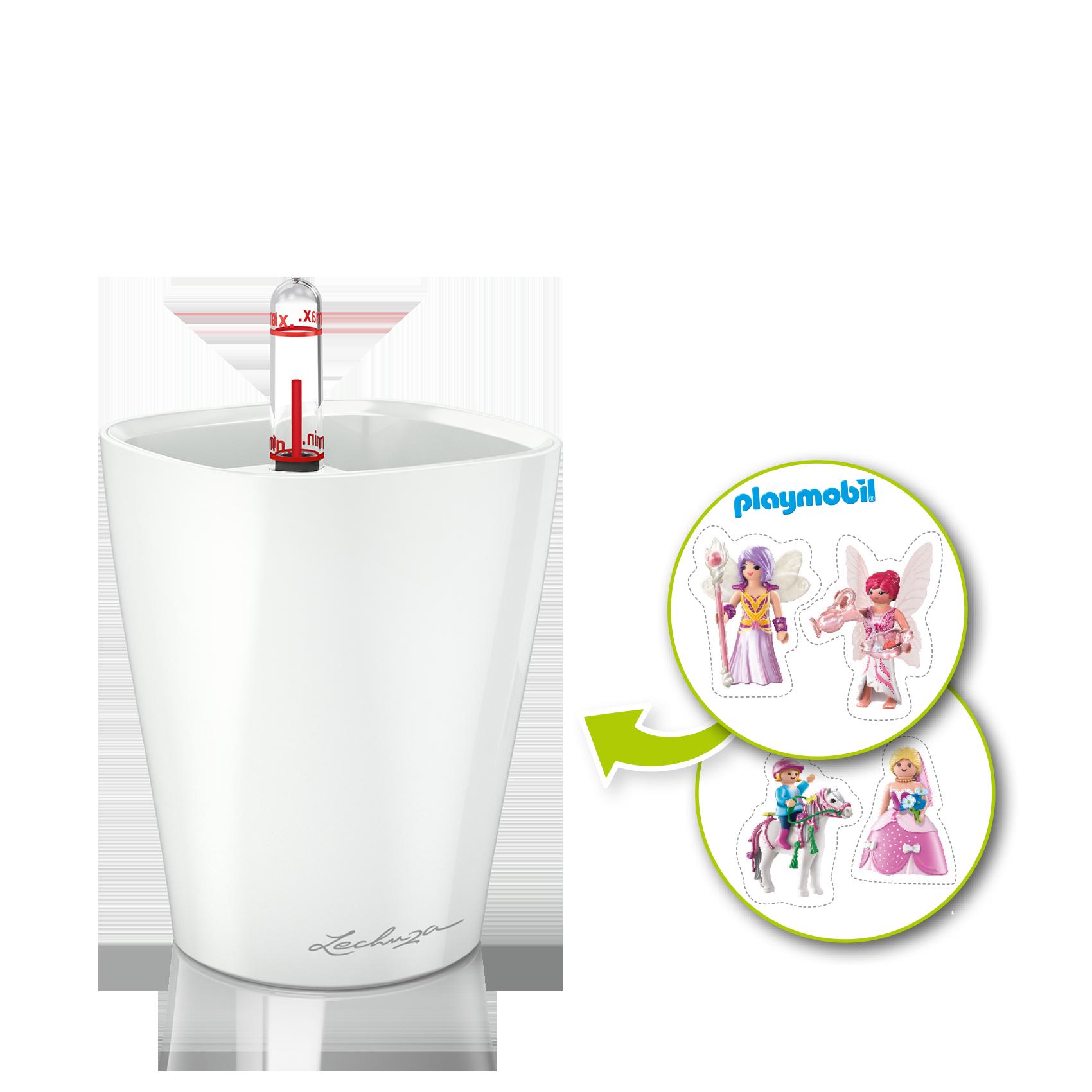 MINI-DELTINI artistic set with pony theme, white semi-gloss