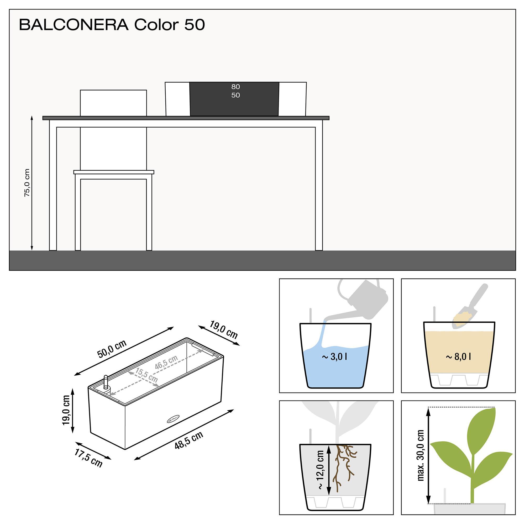 BALCONERA Cottage 50 granito - Imagen 3