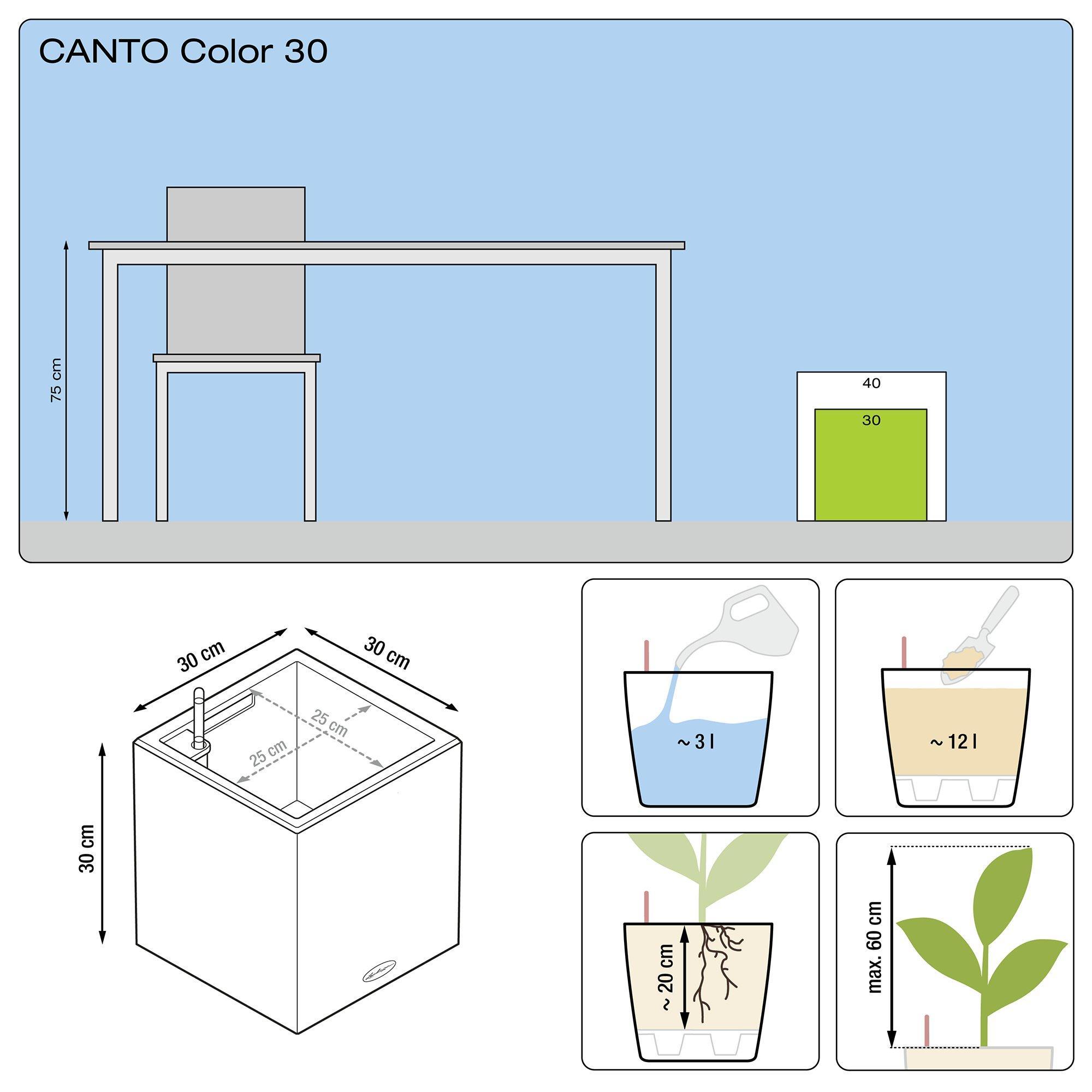 CANTO Color a cubo 30 grigio pietra - Immagine 3