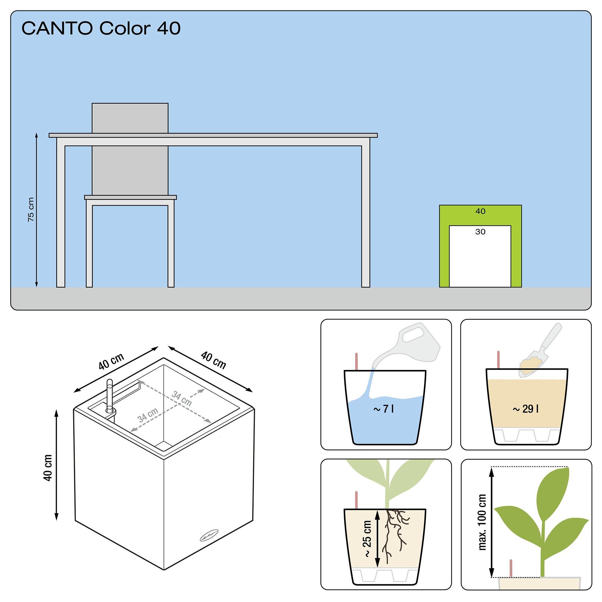 CANTO Color Würfel 40 steingrau - Bild 3