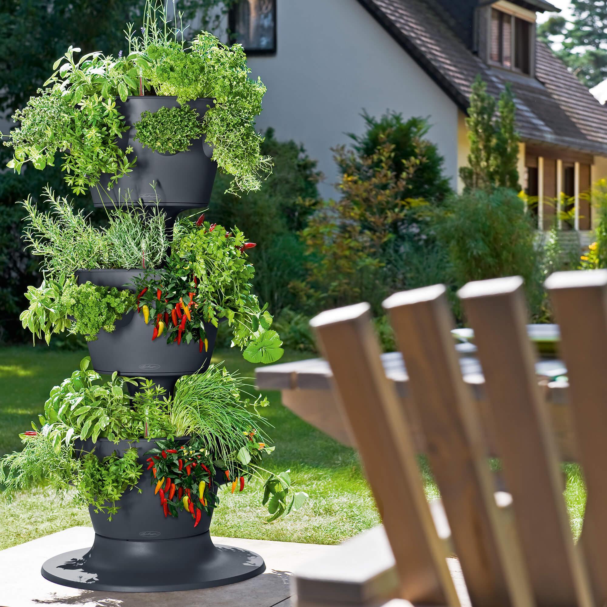 CASCADA Color 3er-Turm schiefergrau - Bild 3