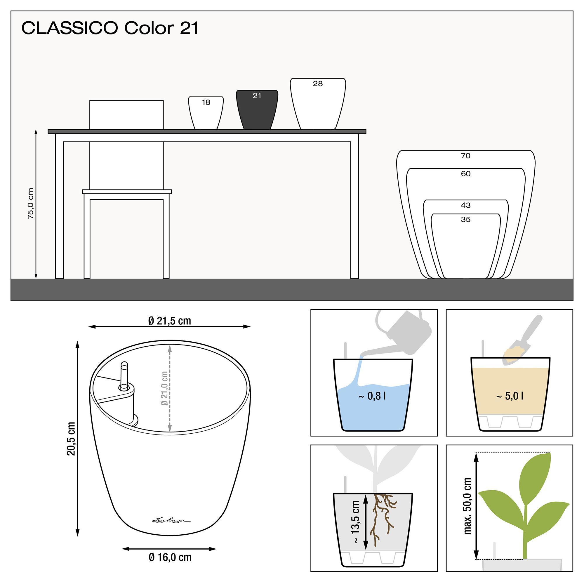 CLASSICO Color 21 weiß - Bild 2