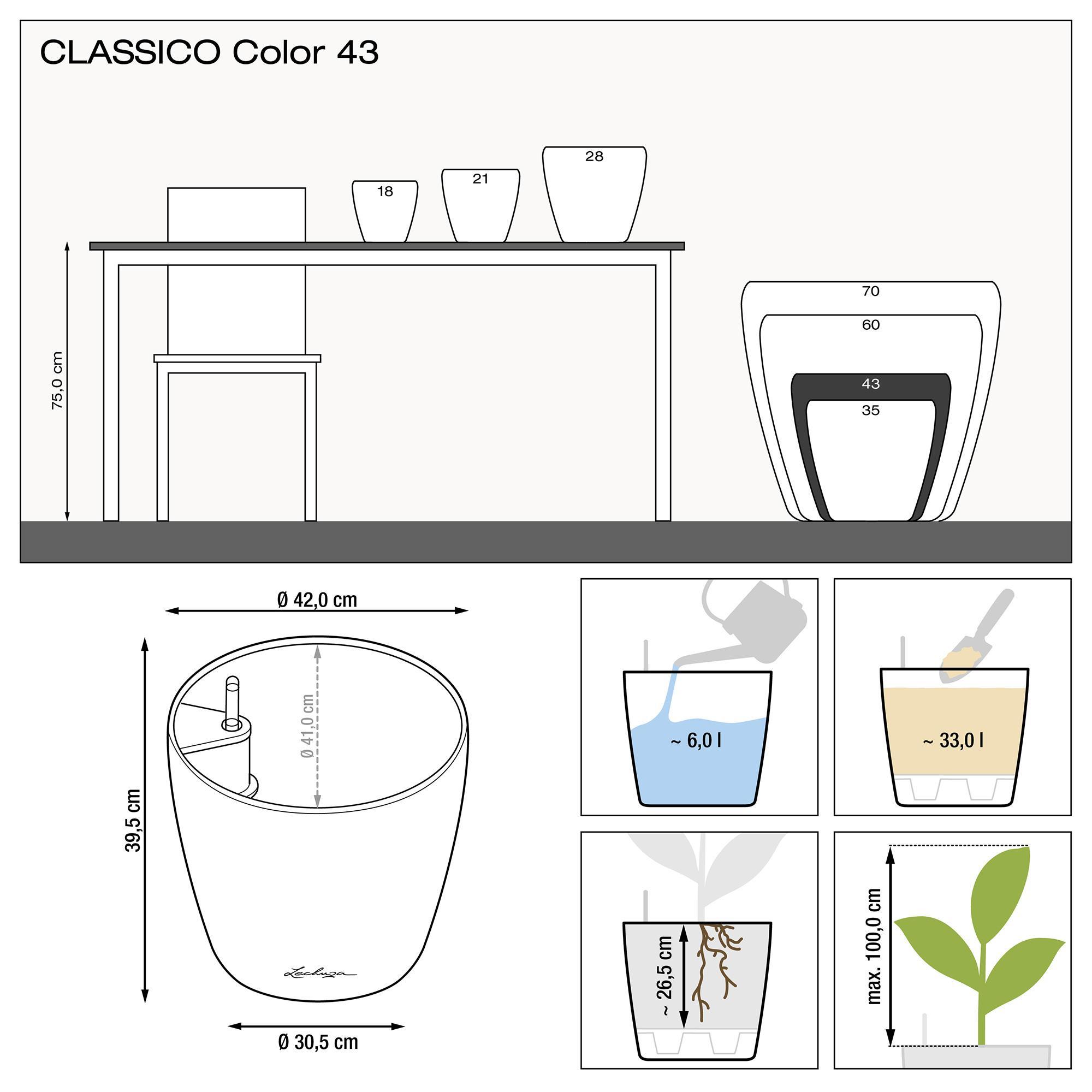 CLASSICO Color 43 schiefergrau - Bild 2