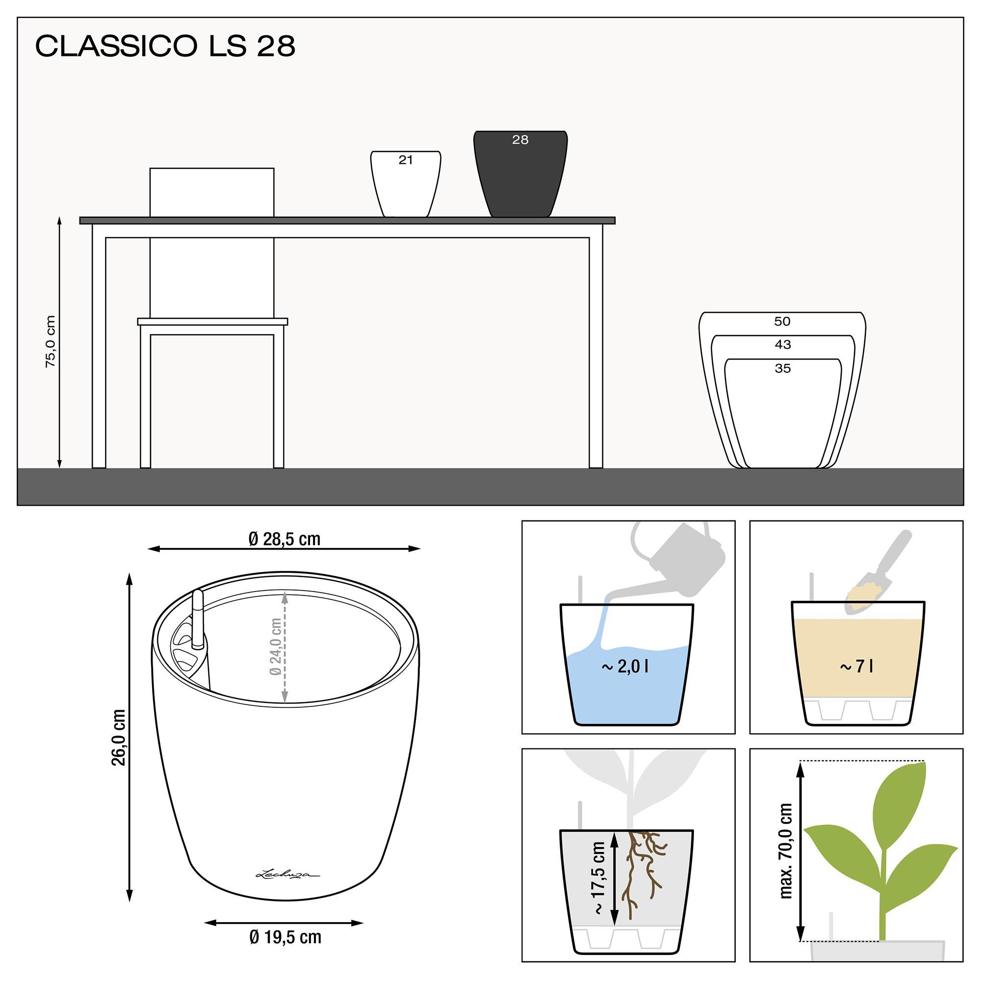 CLASSICO LS 28 noir brillant - Image 3