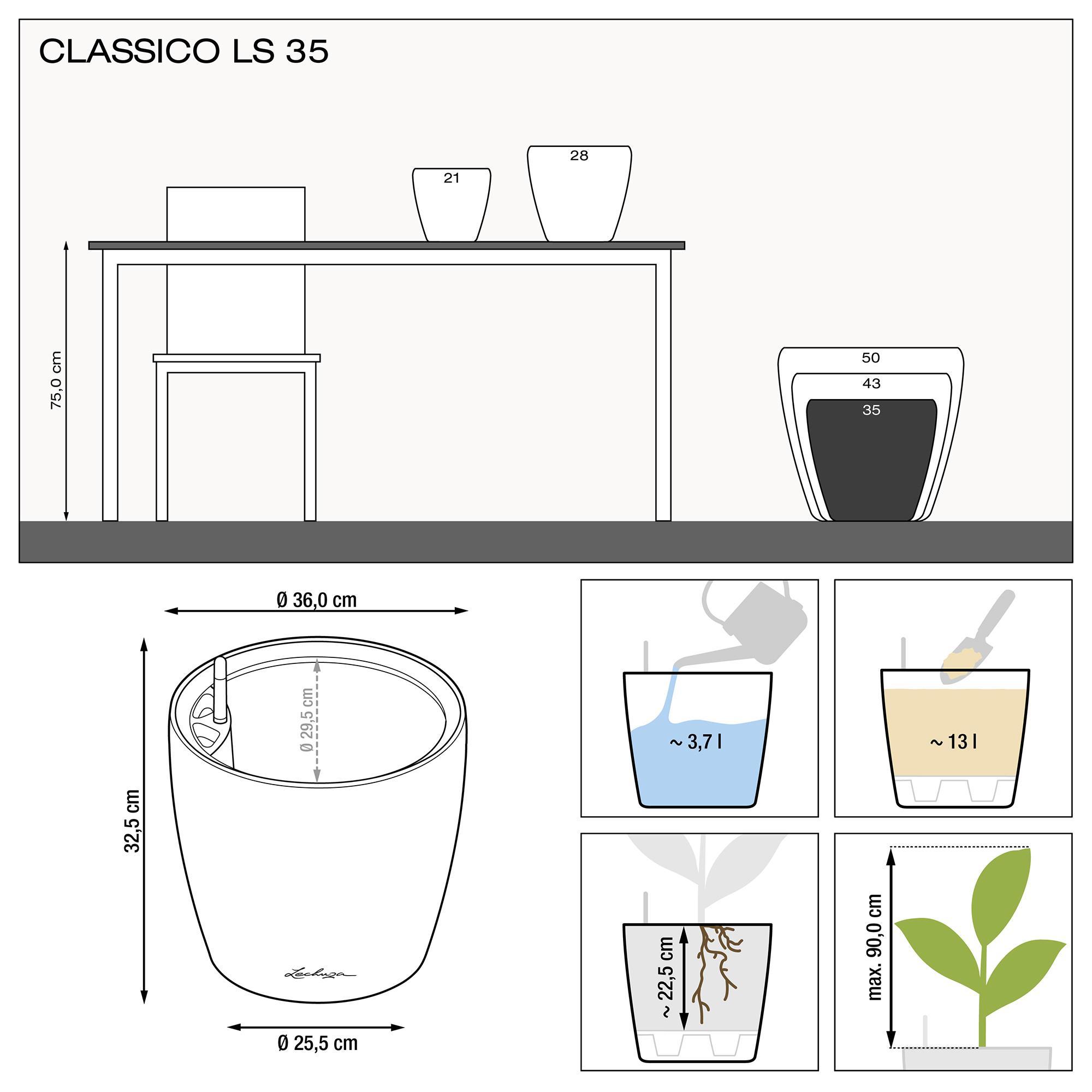 CLASSICO LS 35 black high-gloss - Image 3