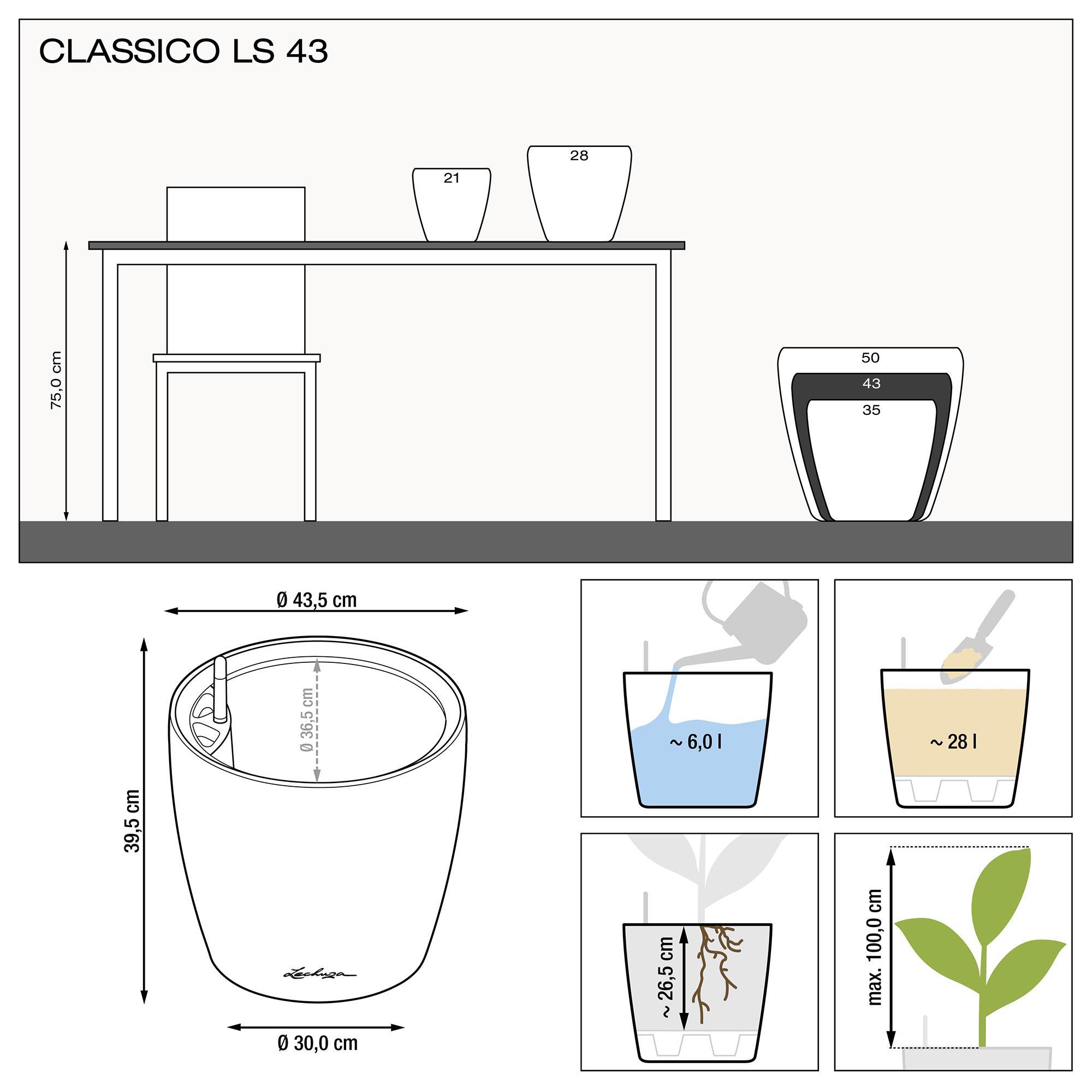 CLASSICO LS 43 anthrazit metallic - Bild 3