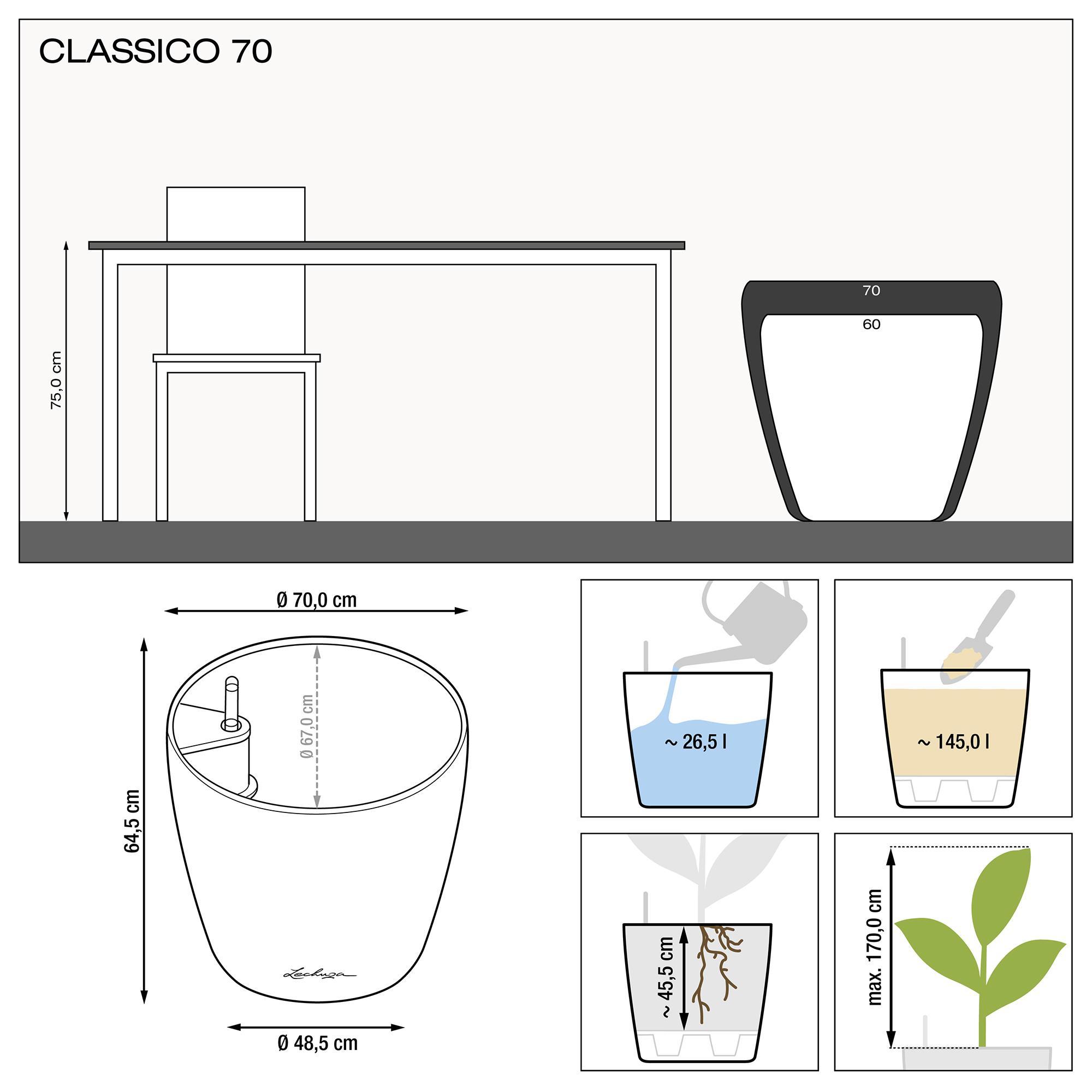 CLASSICO 70 shiny taupe - Image 1