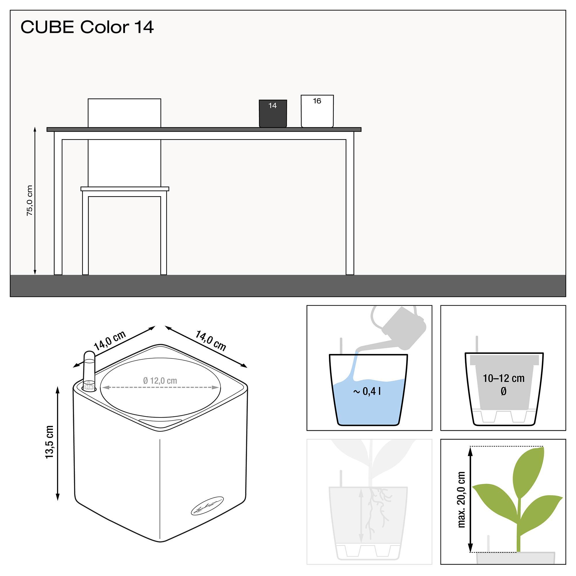 CUBE Color 14 aubergine - Image 2