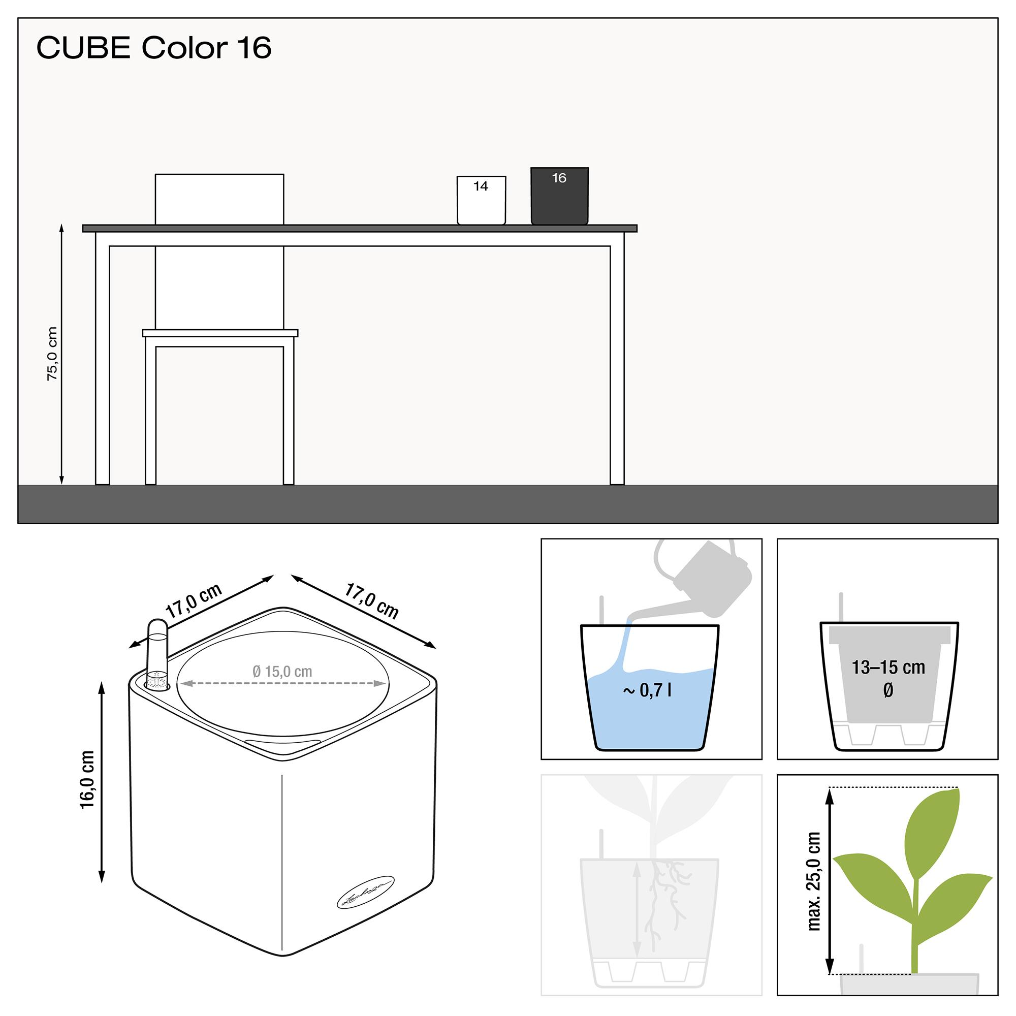 CUBE Color 16 lime green - Image 2