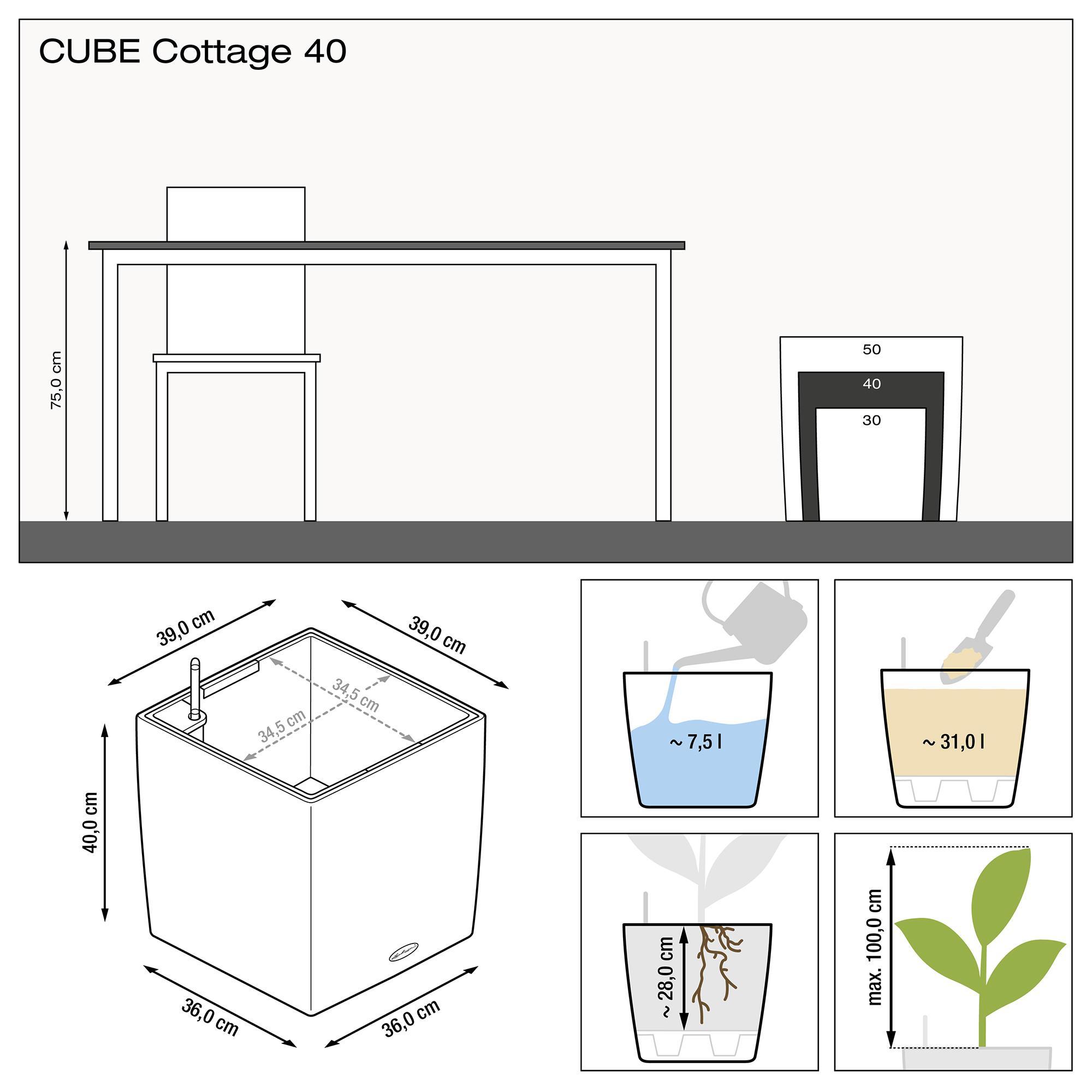 CUBE Cottage 40 mokka - Bild 3