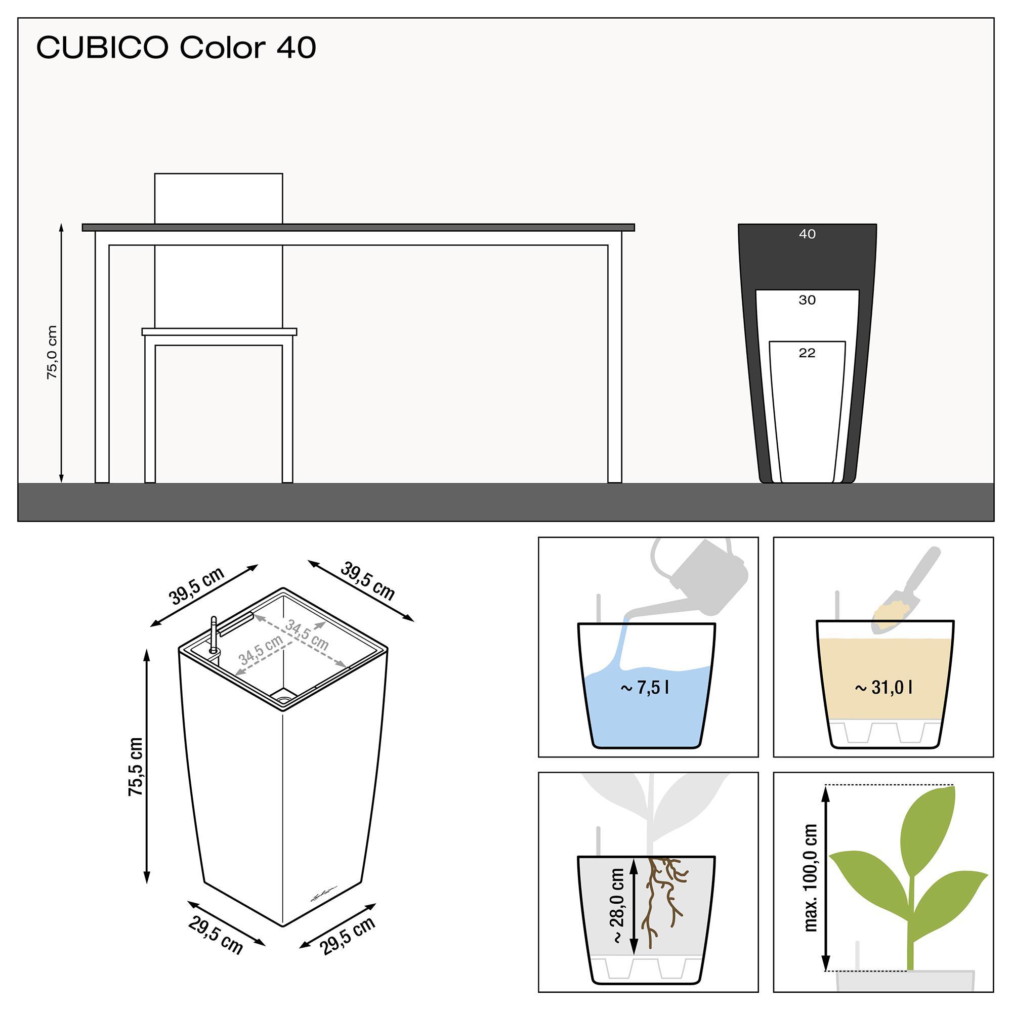CUBICO Color 40 schiefergrau - Bild 3