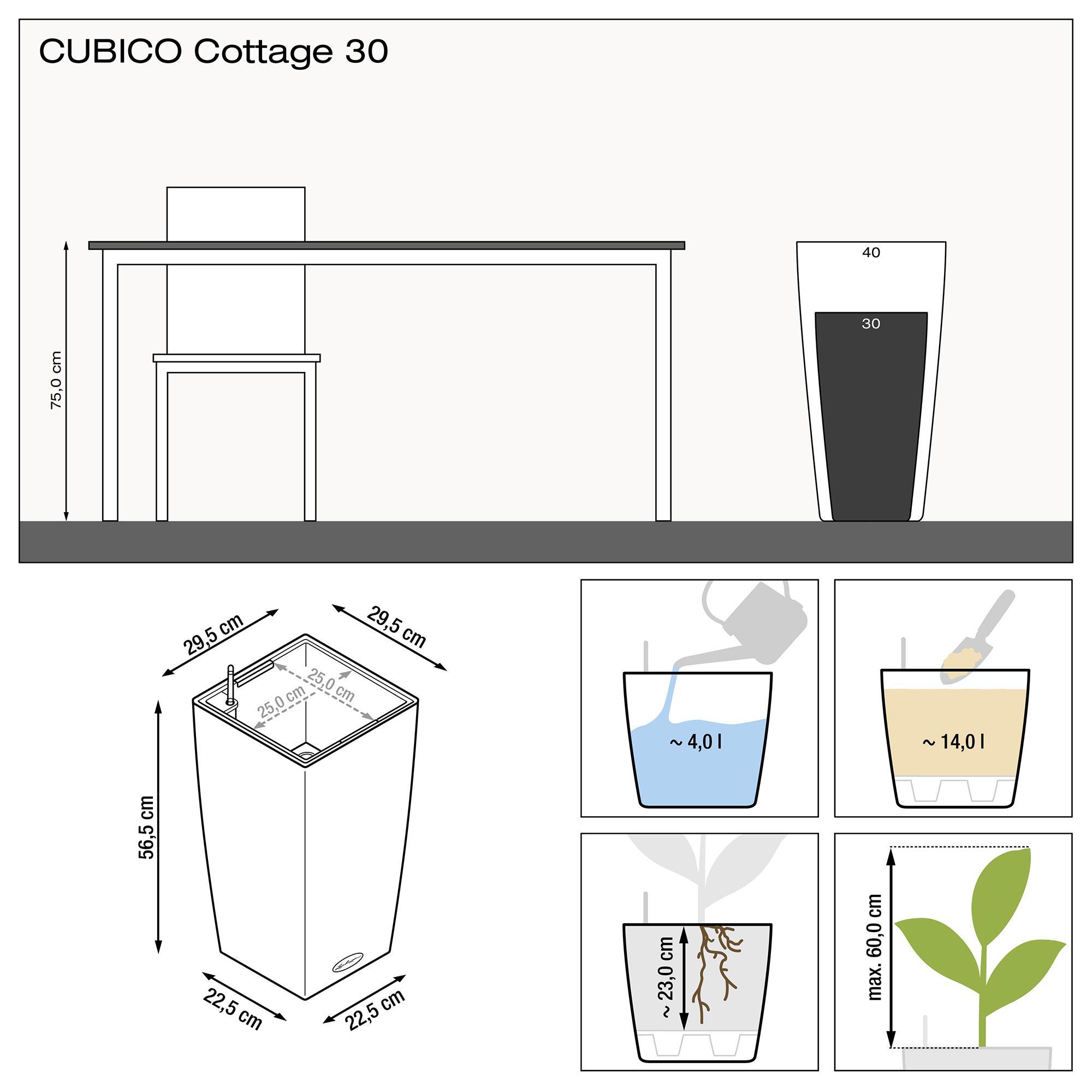 CUBICO Cottage 30 blanc - Image 3