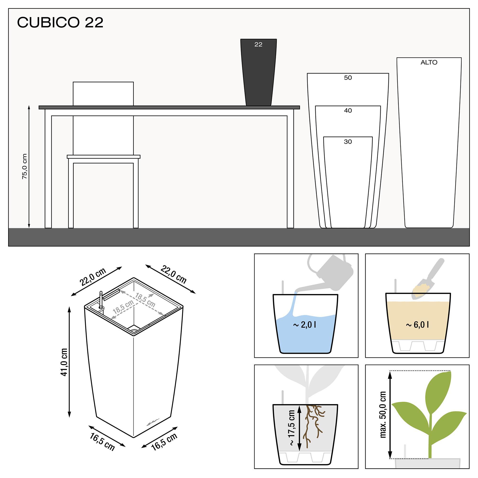 CUBICO 22 Белый блестящий - изображение 3