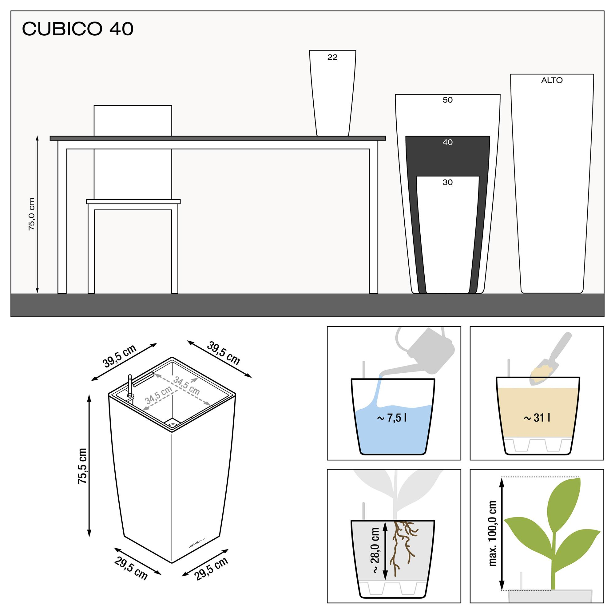 CUBICO 40 white high-gloss - Image 3