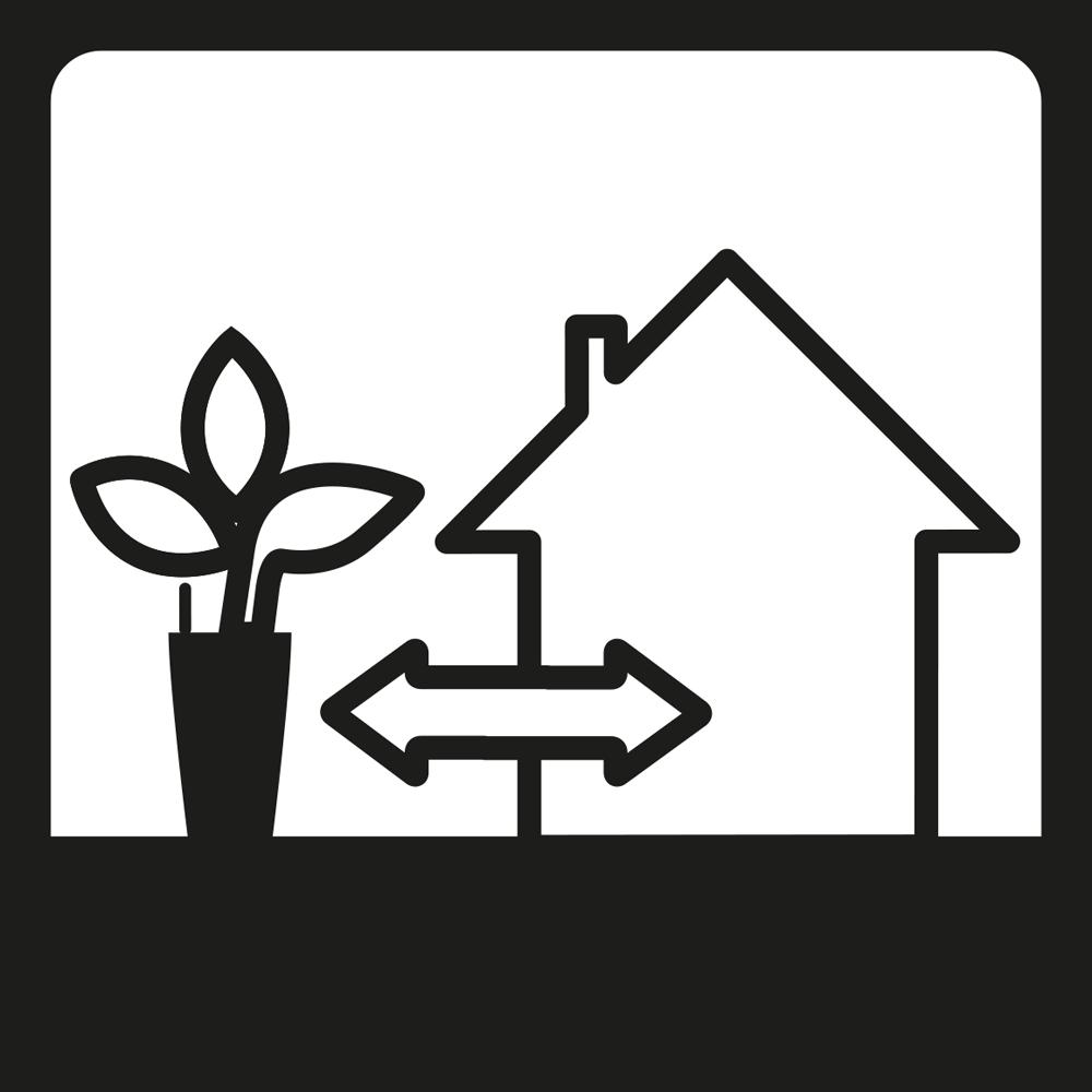 ιδανική για το σπίτι και τον κήπο