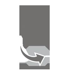 Table leg: adjustment screws for stability