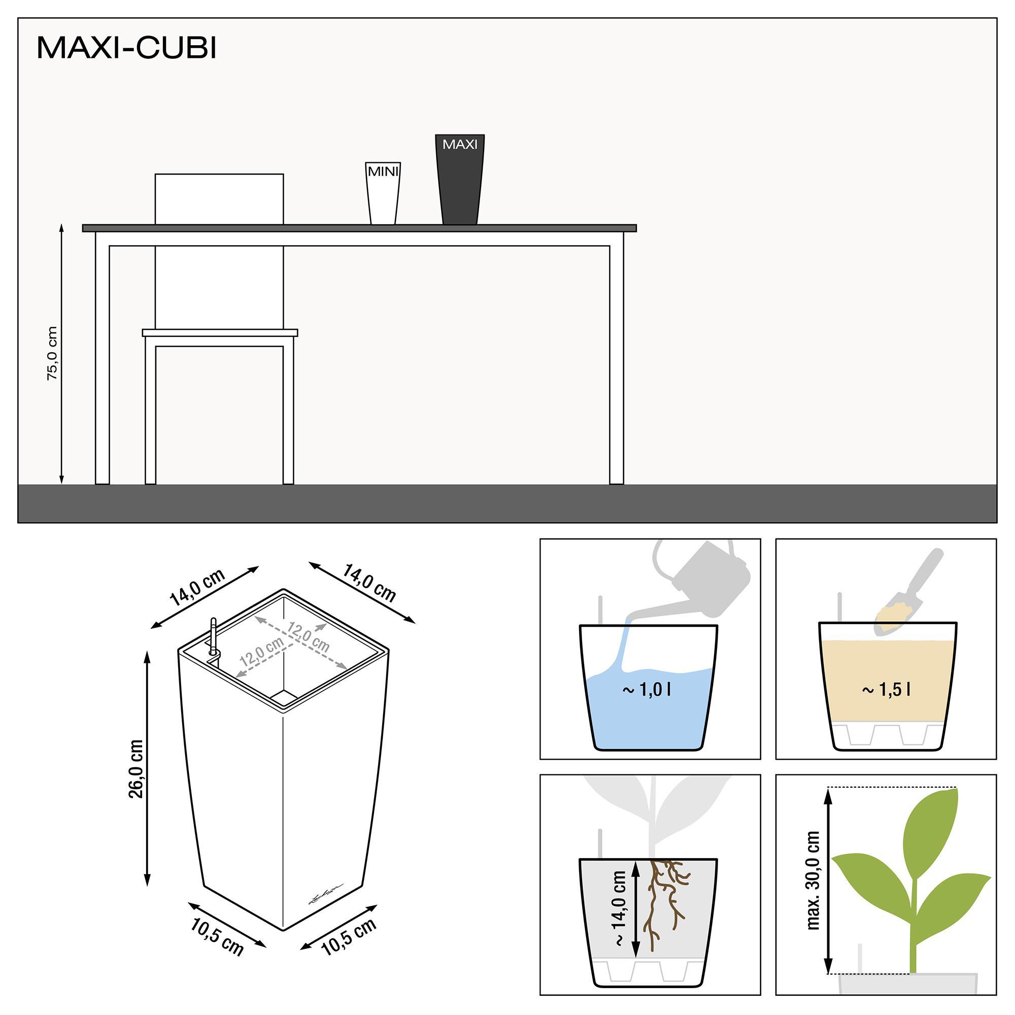 MAXI-CUBI espresso metallic - Image 3