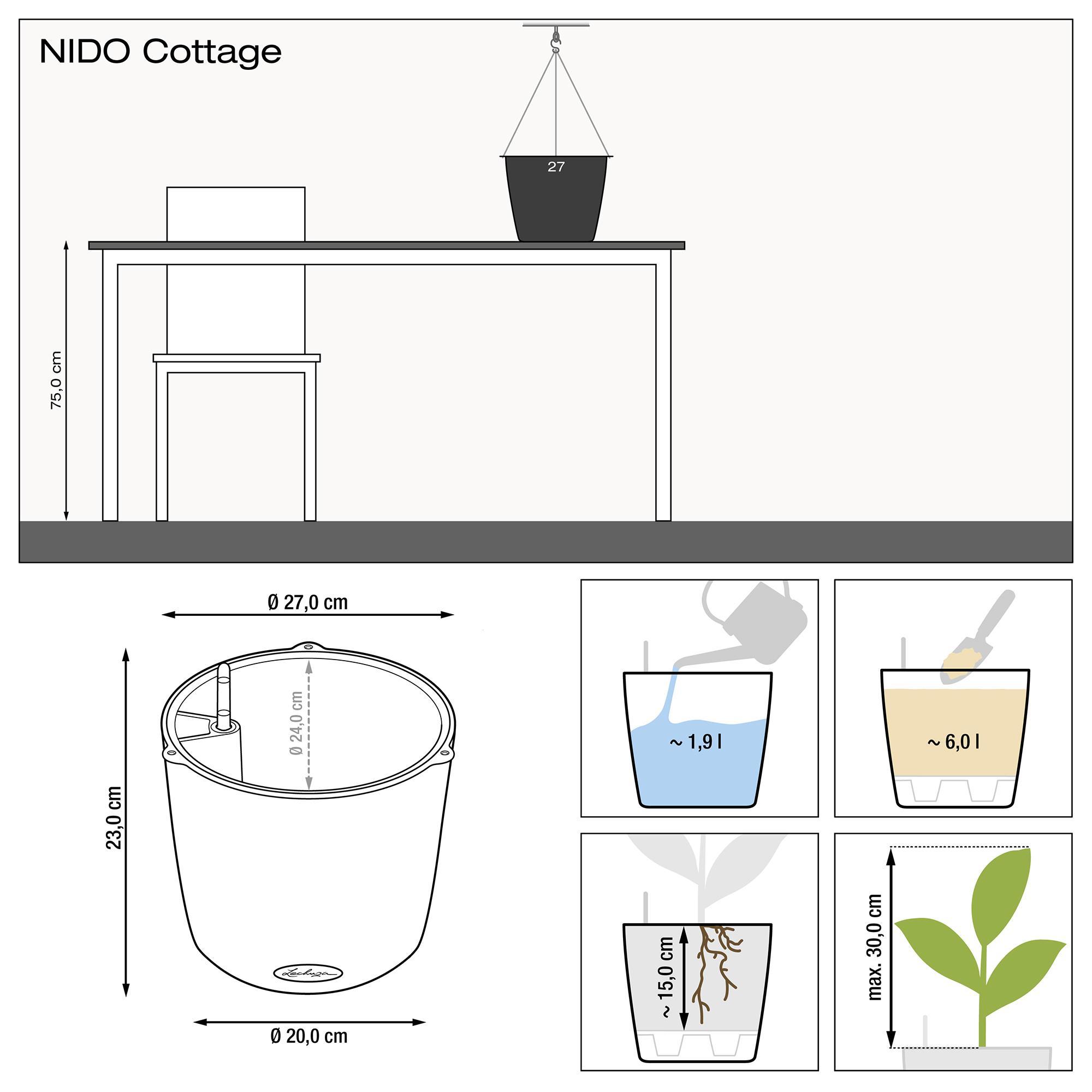 NIDO Cottage weiß - Bild 3