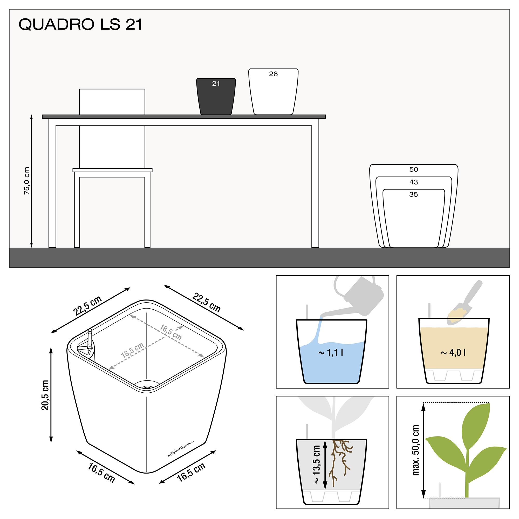 QUADRO LS 21 ice blue high-gloss - Image 3